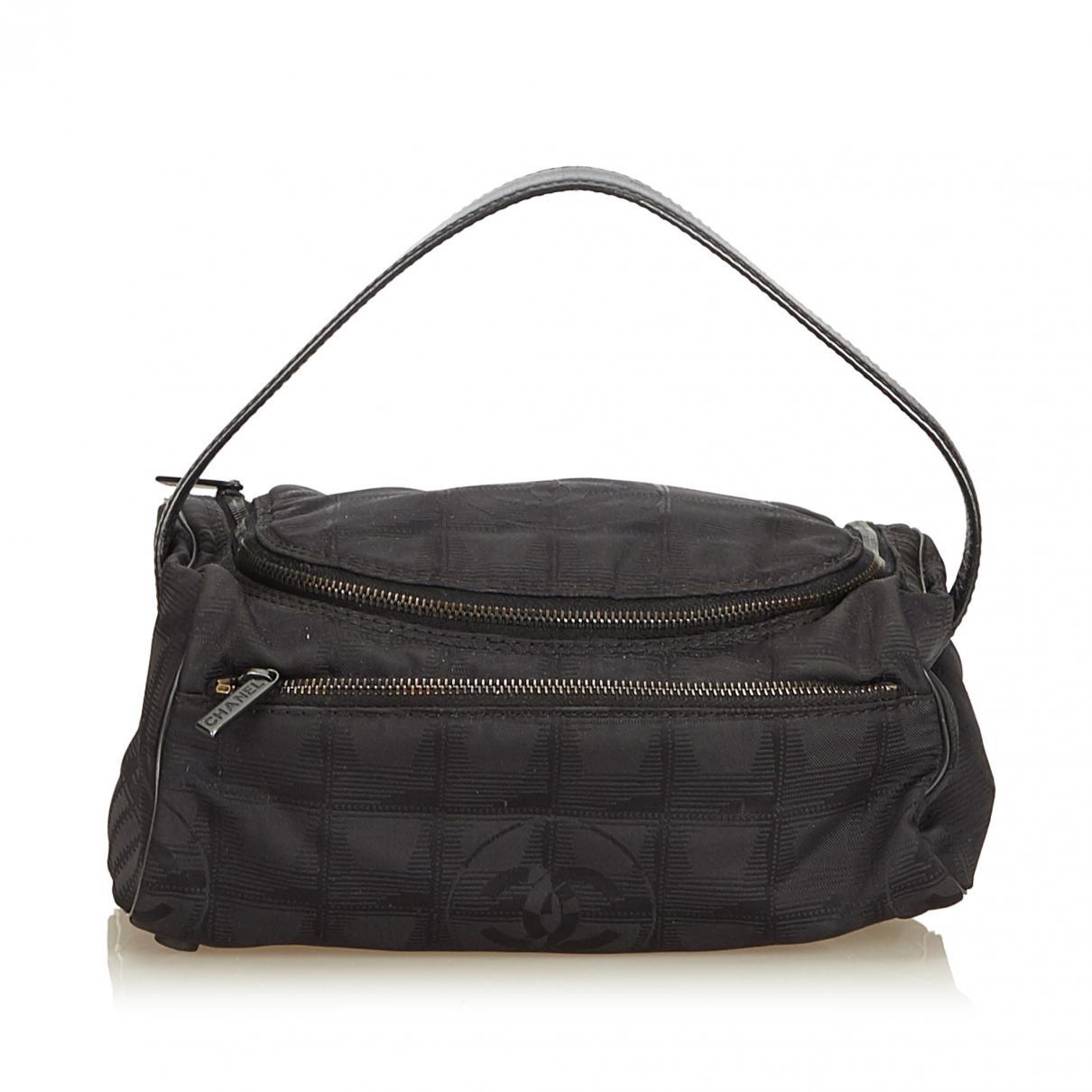 bf06c71cf Chanel Cloth Vanity Case in Black - Lyst