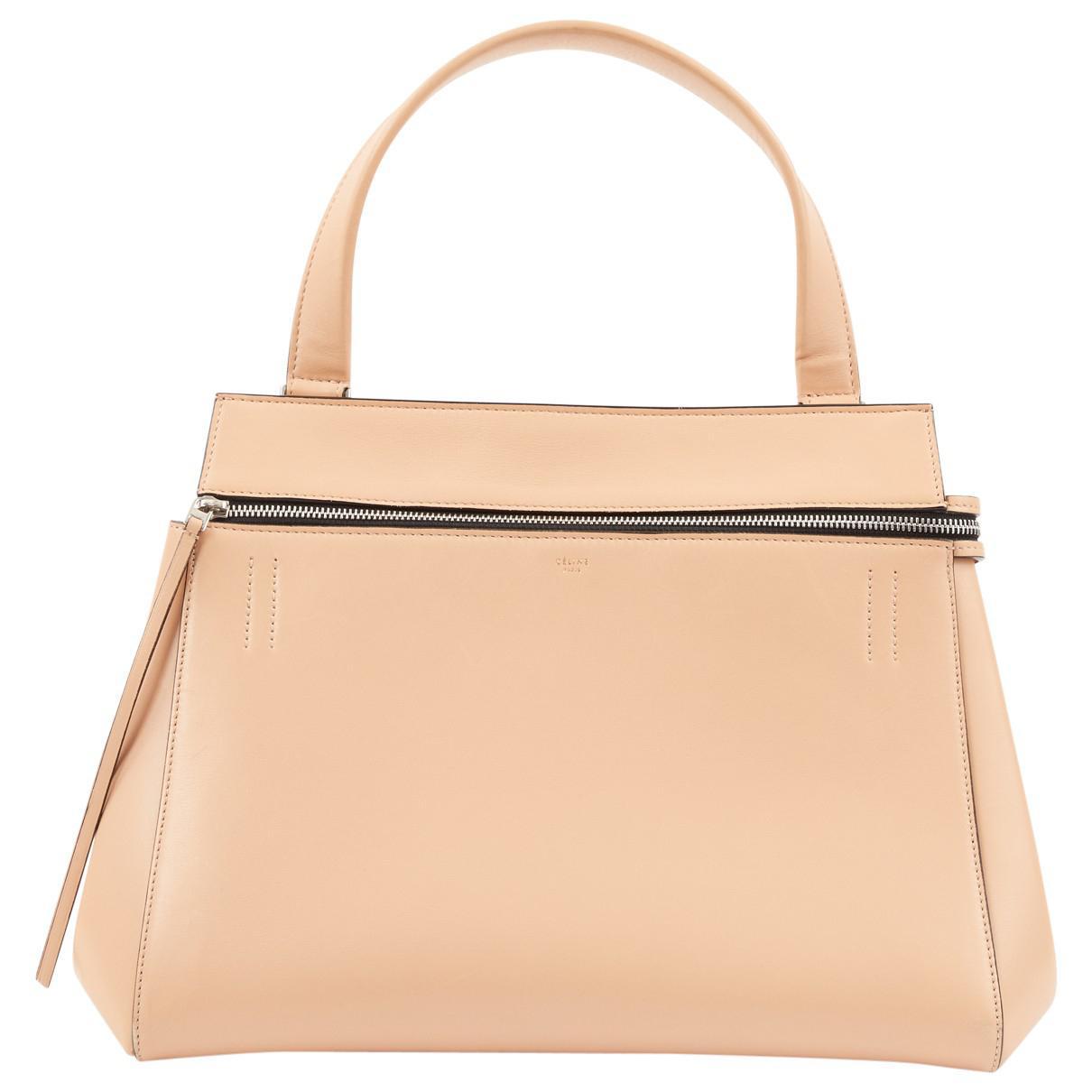 Pre-owned - Edge leather handbag Celine 7IW47KpPMN