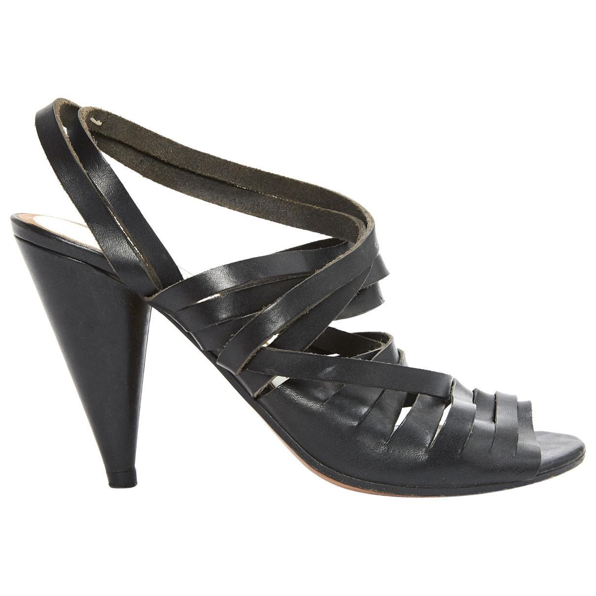 Pre-owned - Leather sandal Maison Martin Margiela l6c9uWgHm