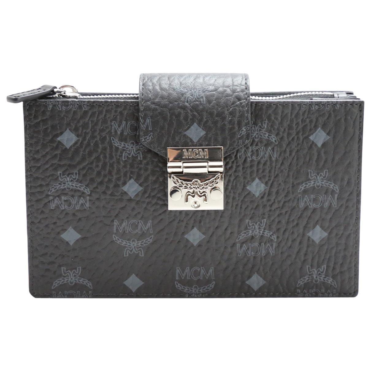 Pre-owned - Leather clutch bag MCM XdPU5Q