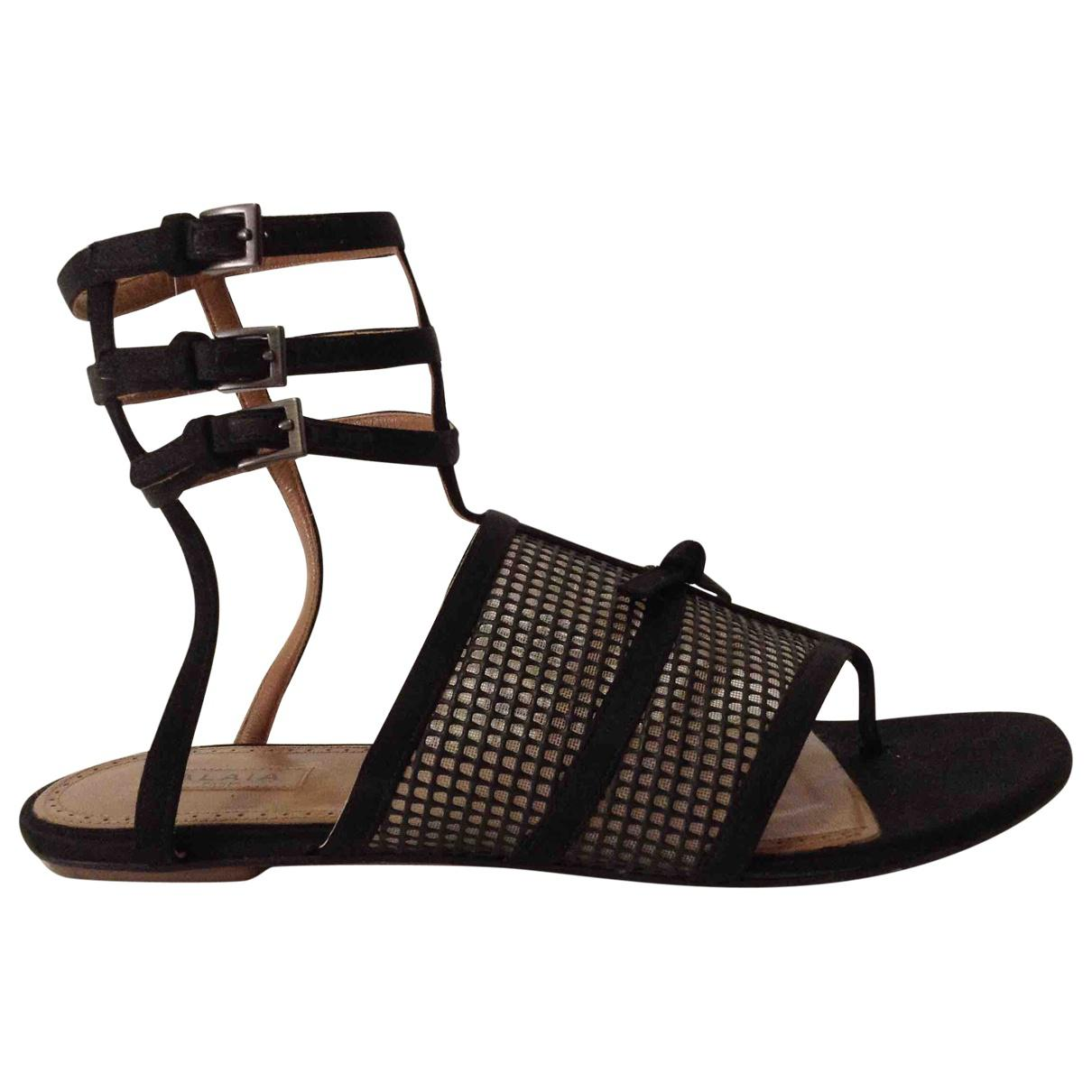 Pre-owned - Leather sandal Alaia HDt2amlWx