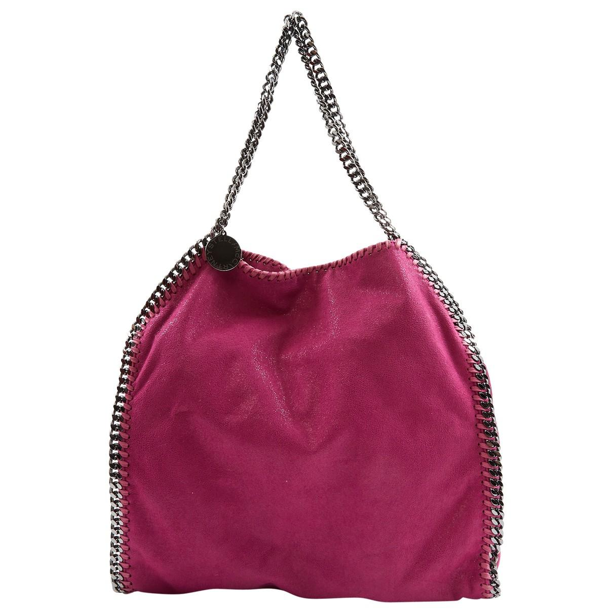 28835d4449ef Stella McCartney. Women s Falabella Pink Polyester Handbag.  650 From Vestiaire  Collective