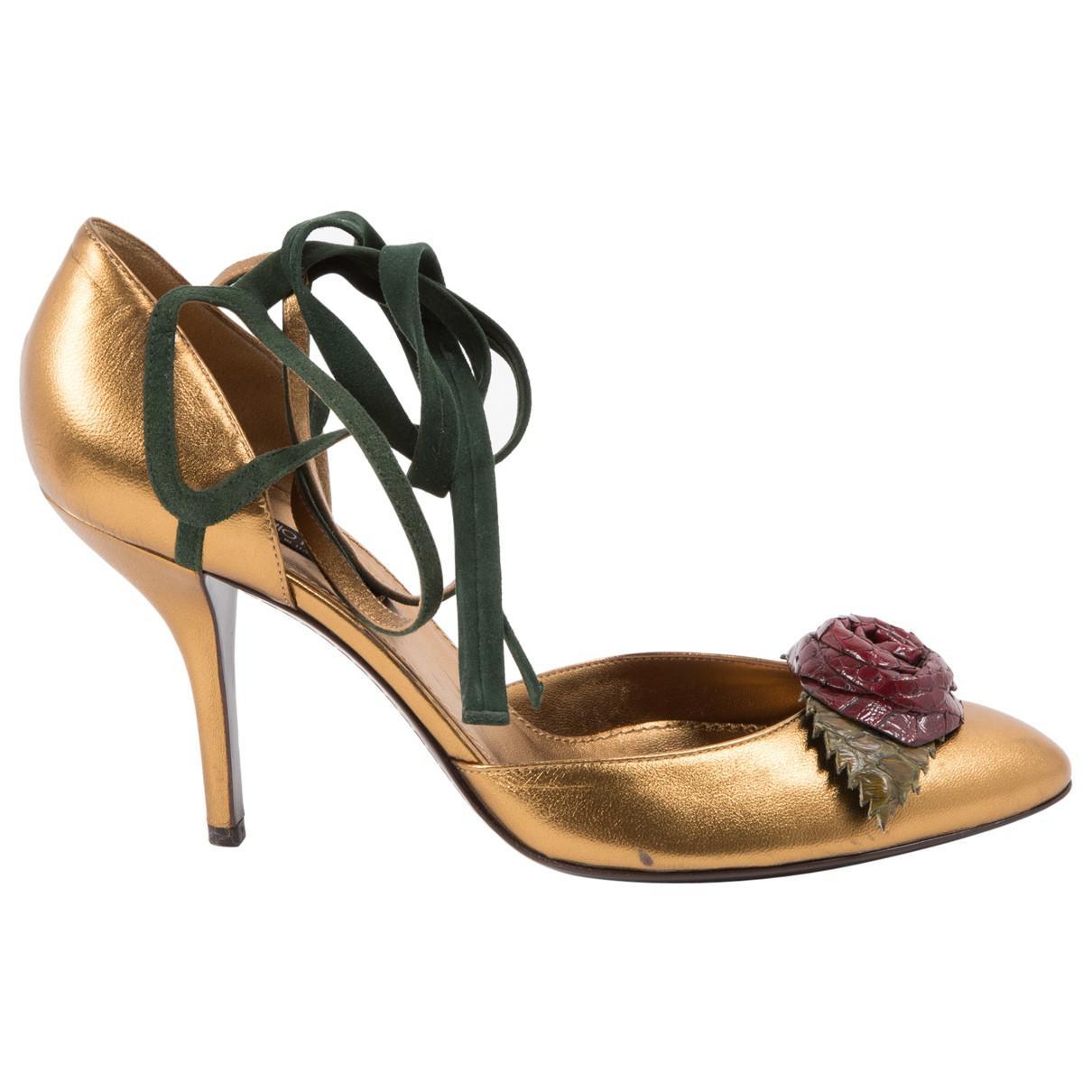 Pre-owned - Leather heels Sergio Rossi IEtjLrN