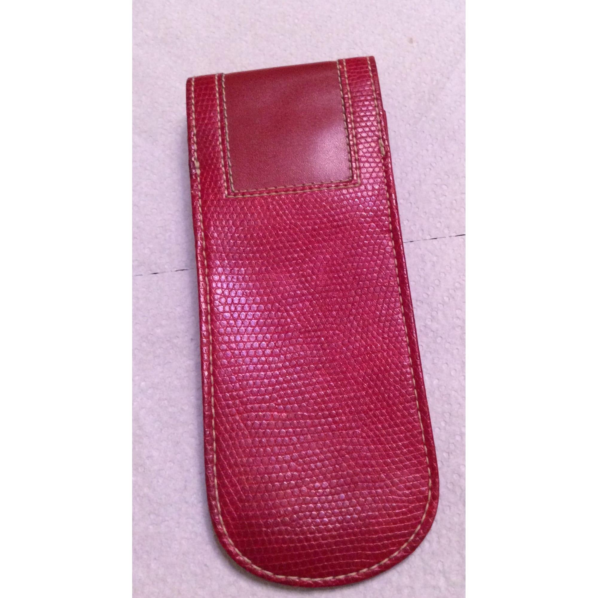 Lyst En Cuir Pour Porte Rouge Homme Lancel Cigarette Coloris O8nX0kNZwP