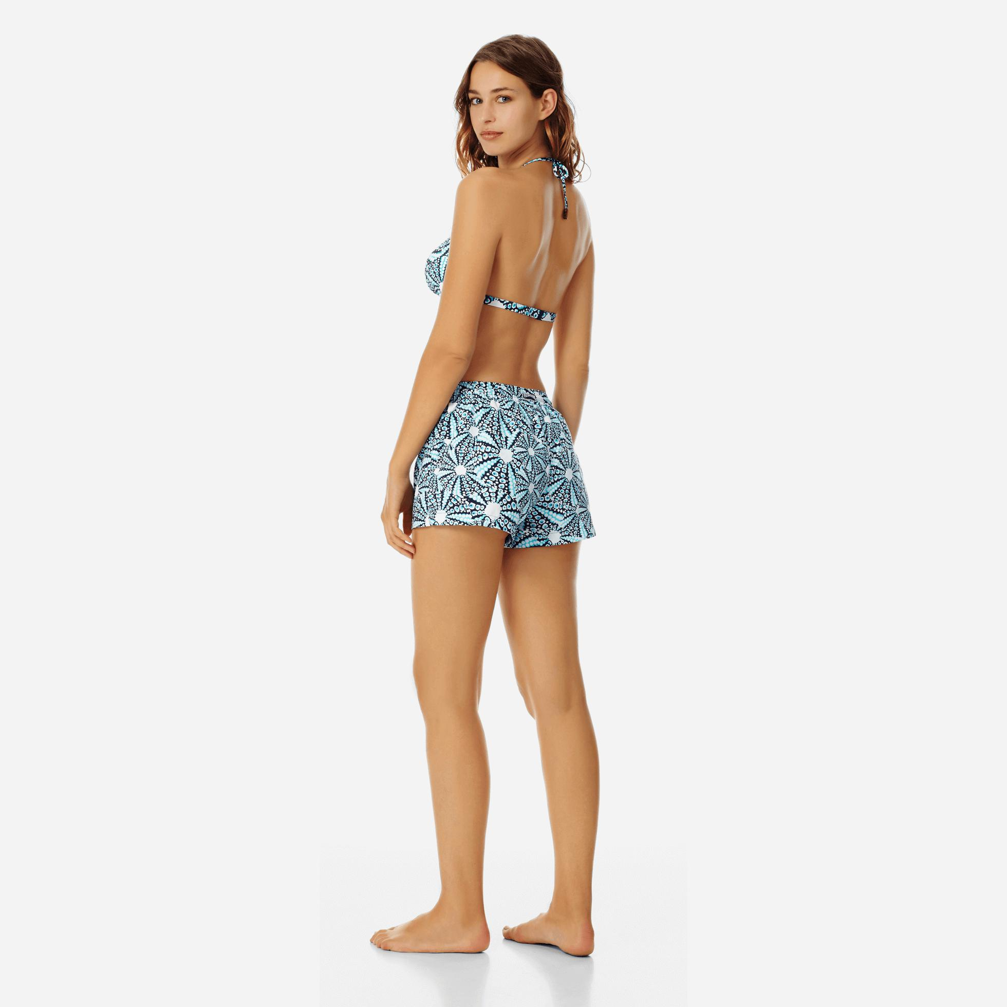 Lyst - Vilebrequin Oursinade Cover-up Shorts in Blue c82821eba