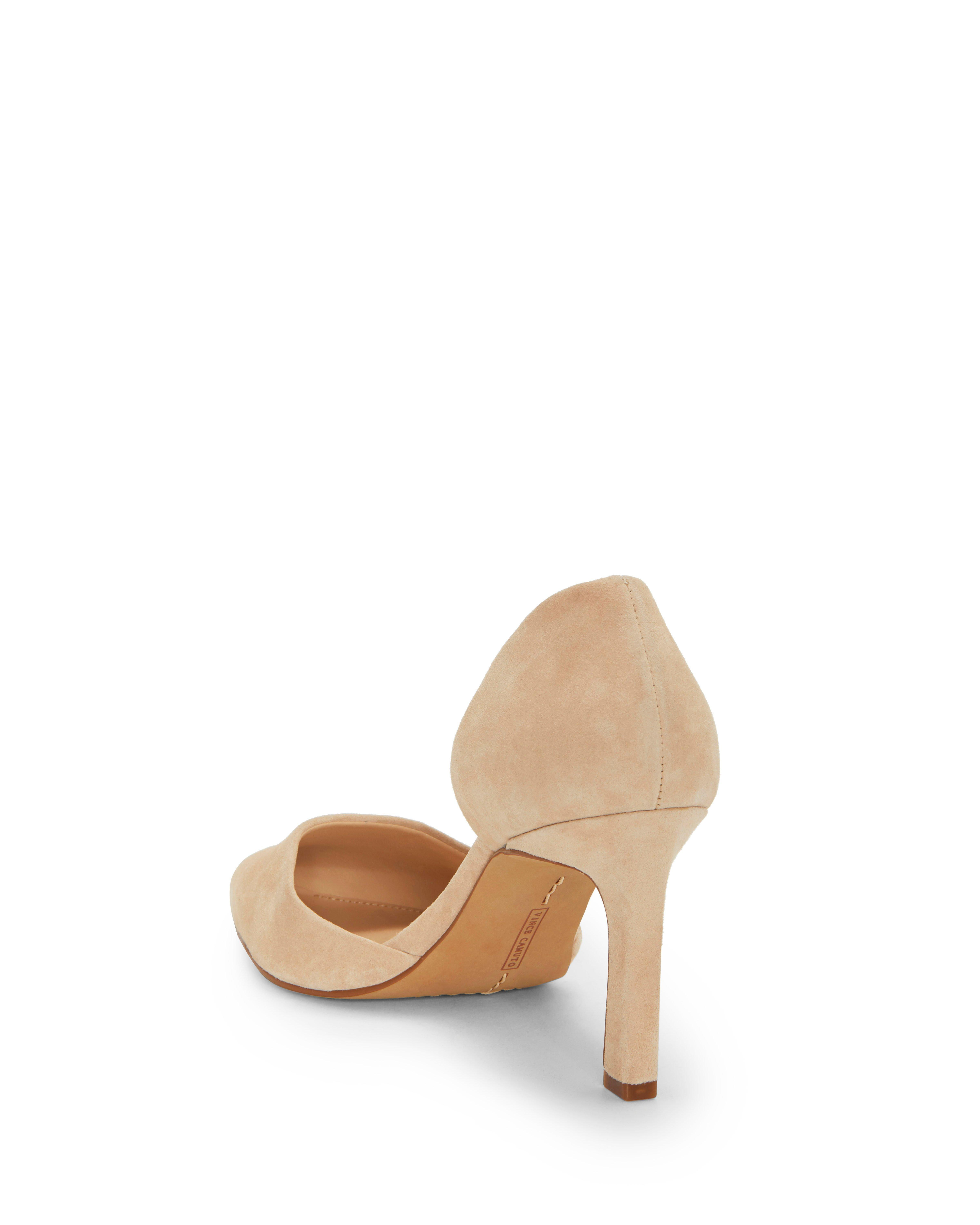 73ffdf10e1d Lyst - Vince Camuto Renny – D orsay Pump in Natural