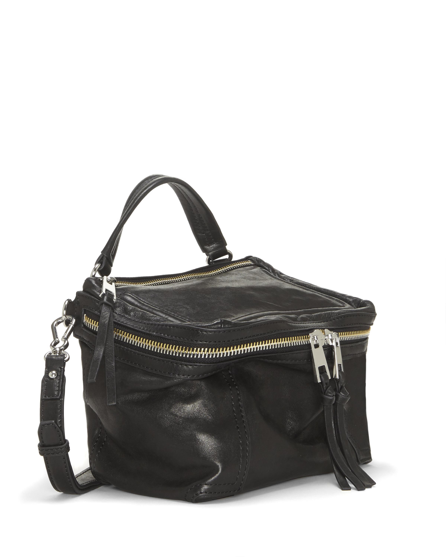 36b805814a Lyst - Vince Camuto Patch – Medium Crossbody Bag in Black