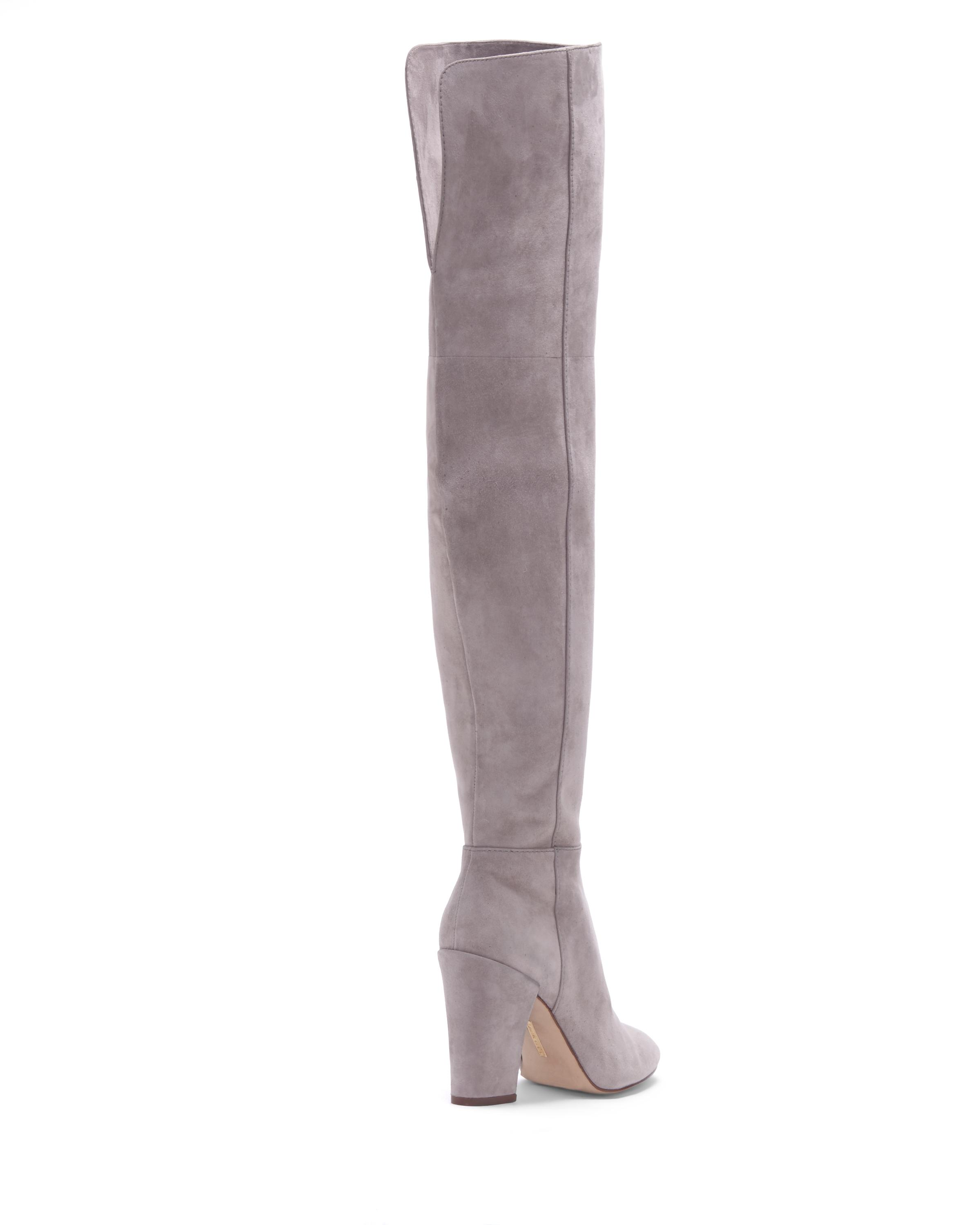 ae8ccf01ffc Lyst - Vince Camuto Louise Et Cie Vernon – Block-heel Boot in Gray