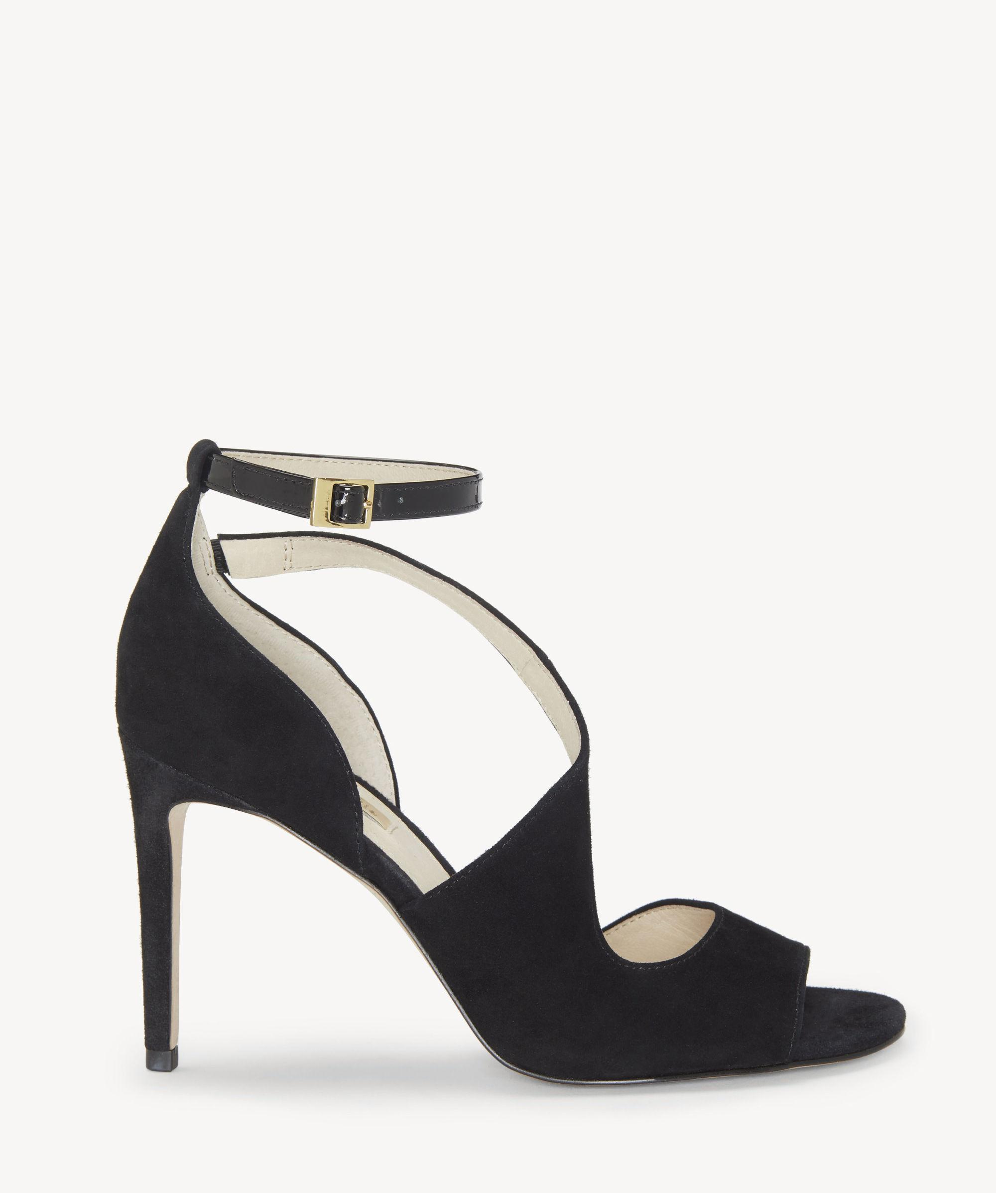 bacc033e9ae Lyst - Vince Camuto Louise Et Cie Kalimac – Winding-strap Sandal in Black -  Save 47%