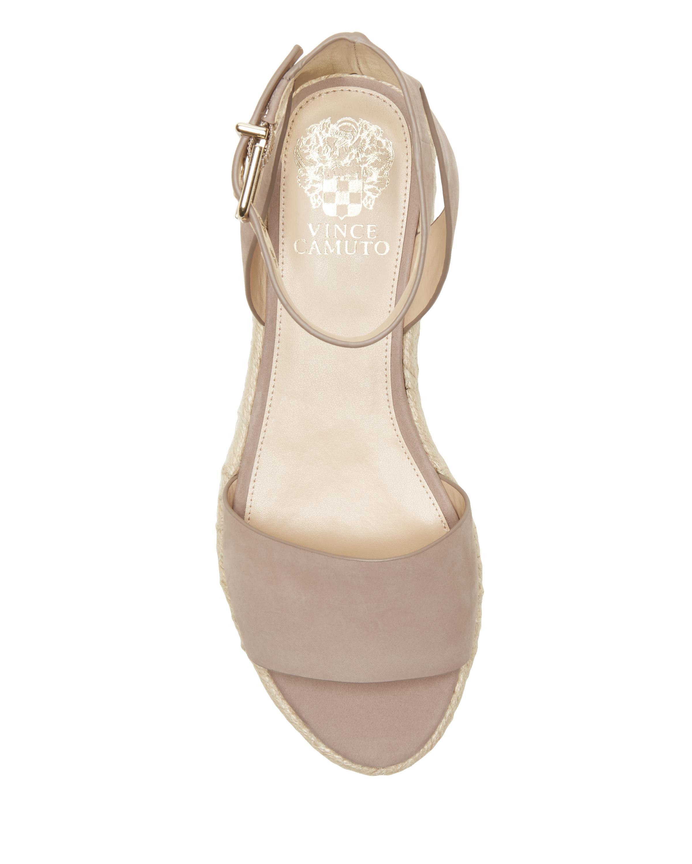 f11914390626 Lyst - Vince Camuto Kathalia – Flatform Espadrille Sandal in Natural