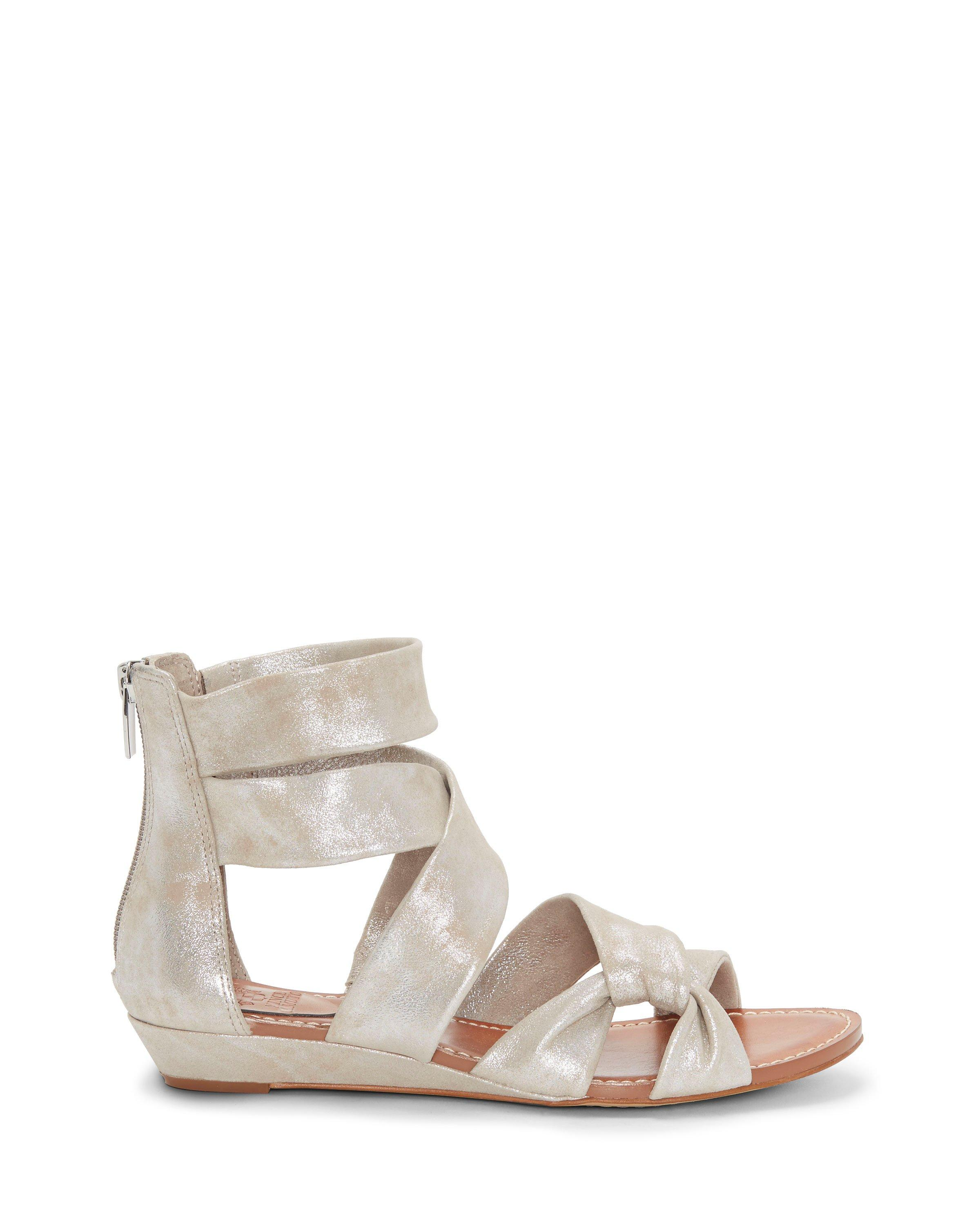 Seevina Metallic Gladiator Wedge Sandals UB4eVJUtZ