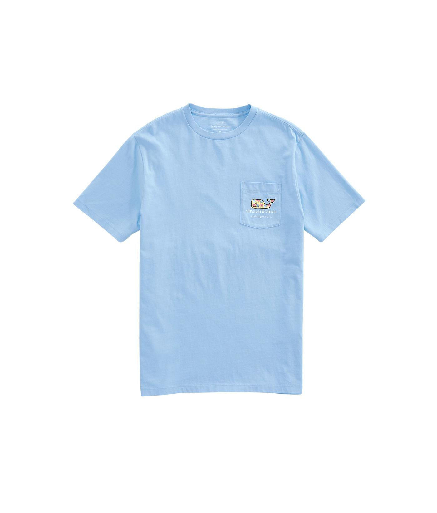 Lyst Vineyard Vines Short Sleeve Cherry Blossoms Whale Fill T