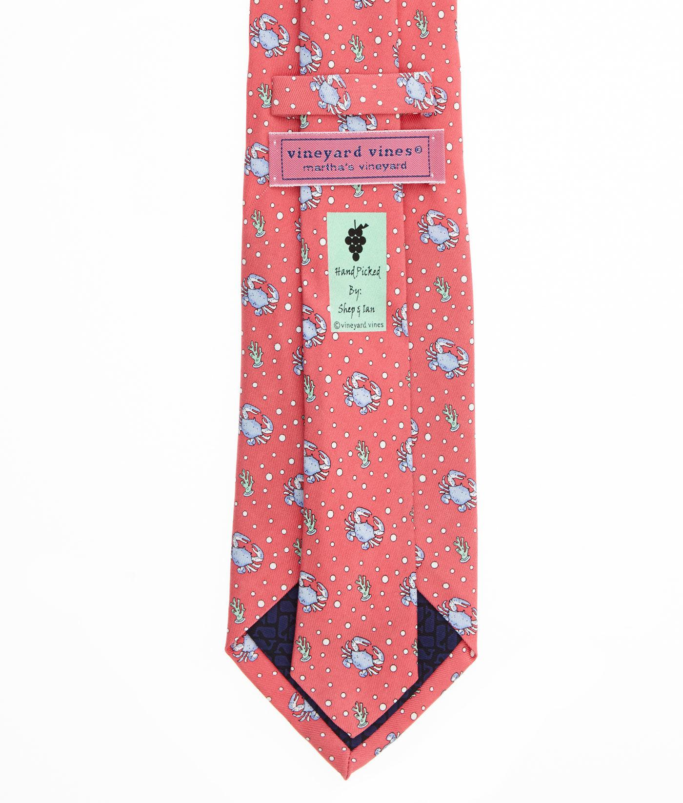 978ddfa1a70e Vineyard Vines - Red Crab Tie for Men - Lyst. View fullscreen