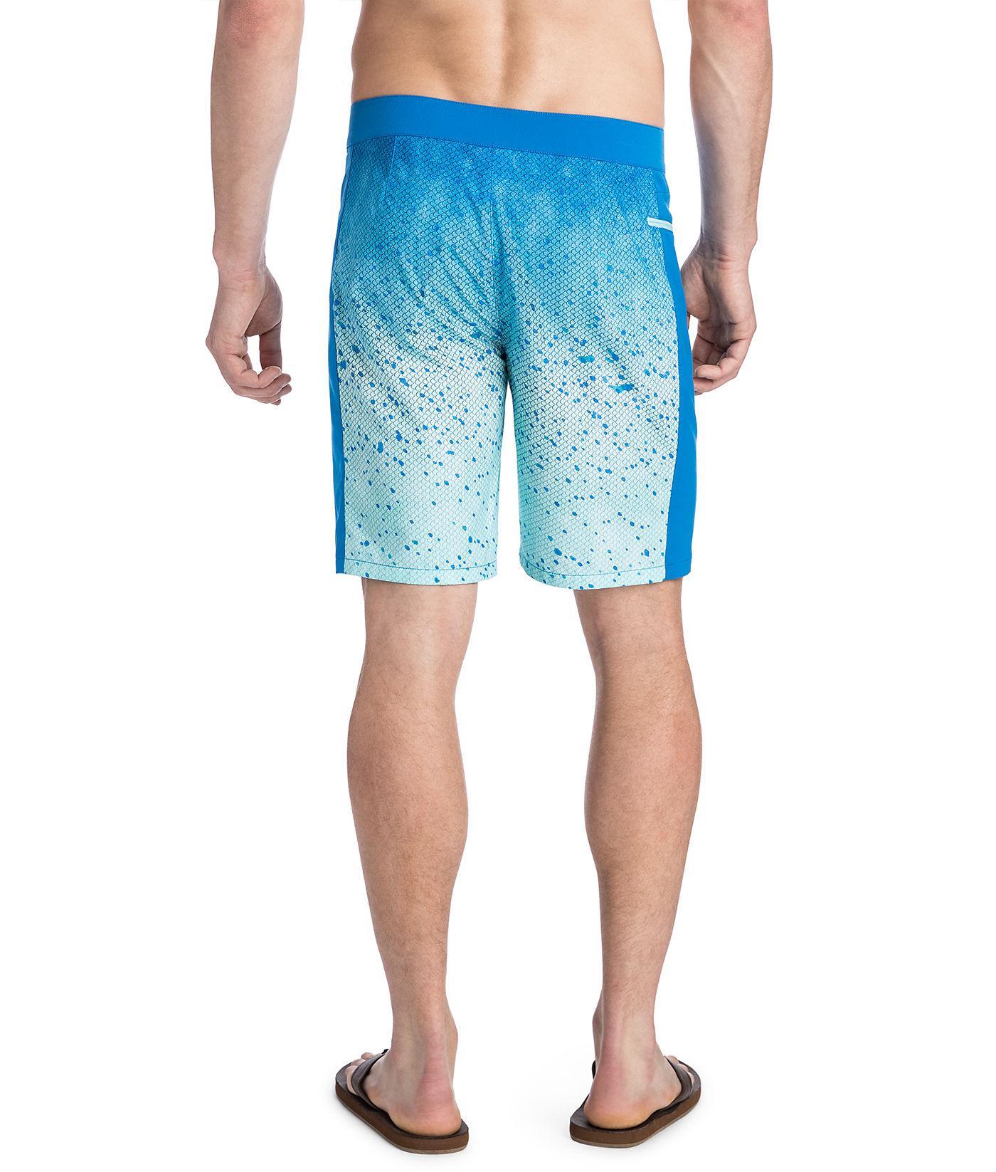 bc3fad1563ca9 Lyst - Vineyard Vines Mahi Pieced Tech Board Shorts in Blue for Men