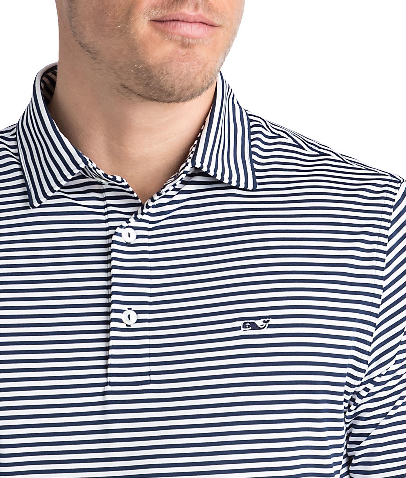 90afcc63 Vineyard Vines - Blue Winstead Stripe Sankaty Performance Polo for Men -  Lyst. View fullscreen