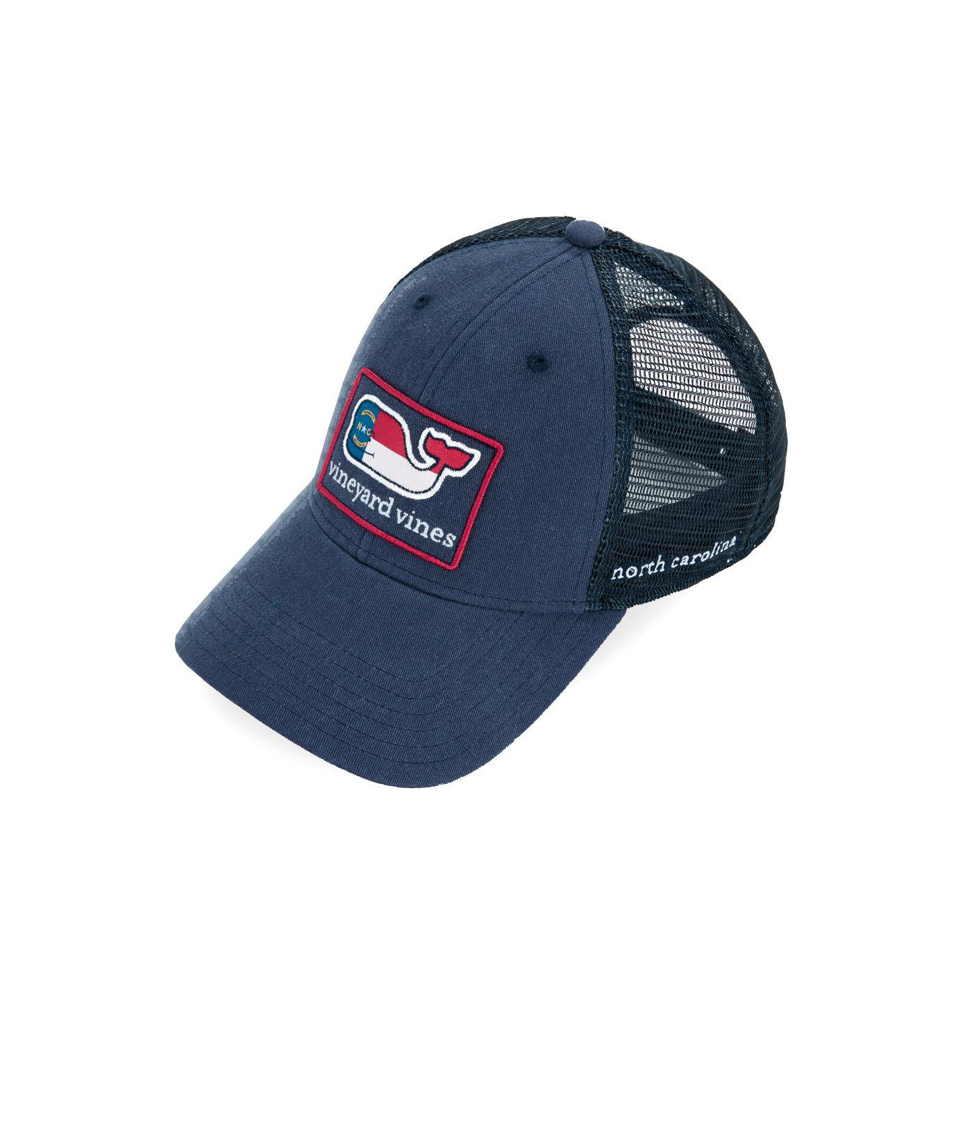 e844b838 Vineyard Vines North Carolina Icon Trucker Hat in Blue for Men - Lyst