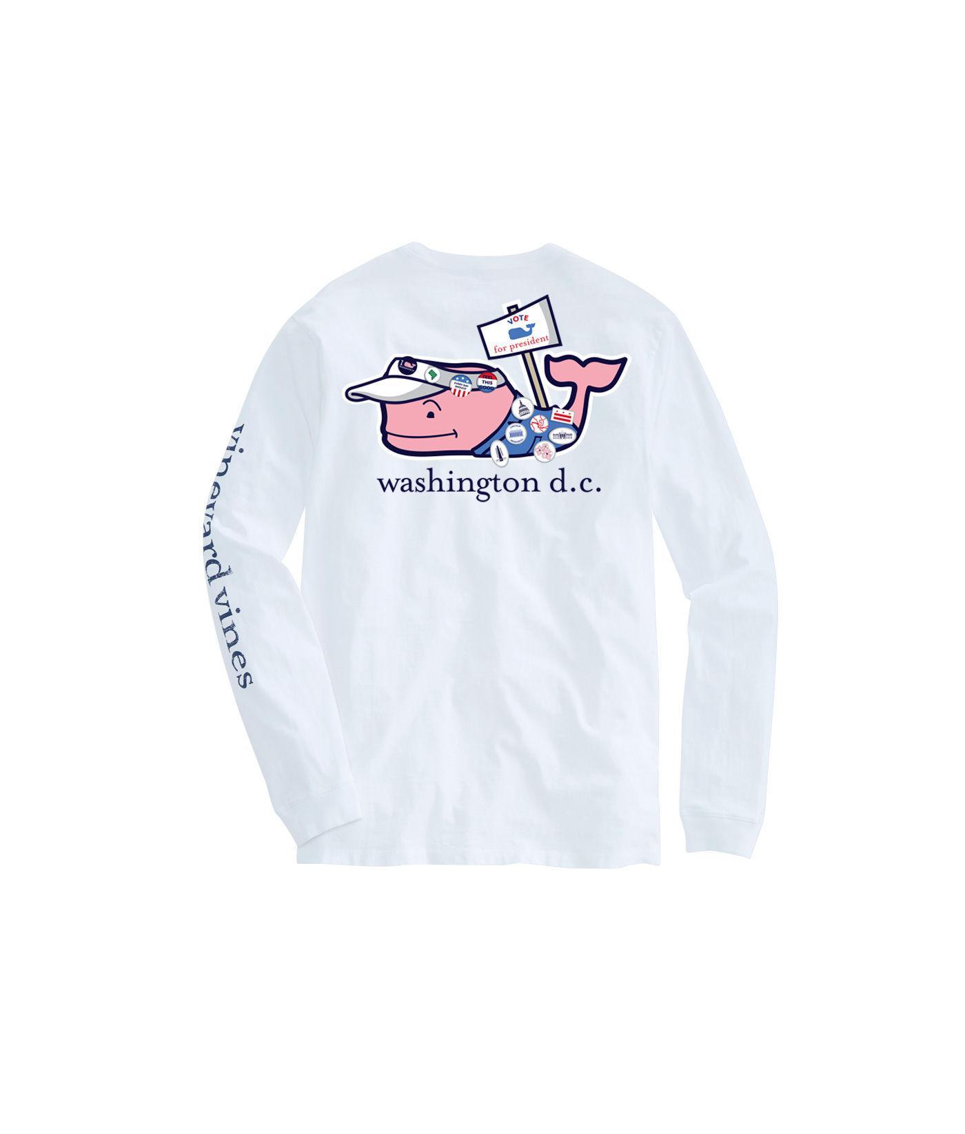 fd847789 Vineyard Vines Adult Long-sleeve Fallen Patriots T-shirt in White ...