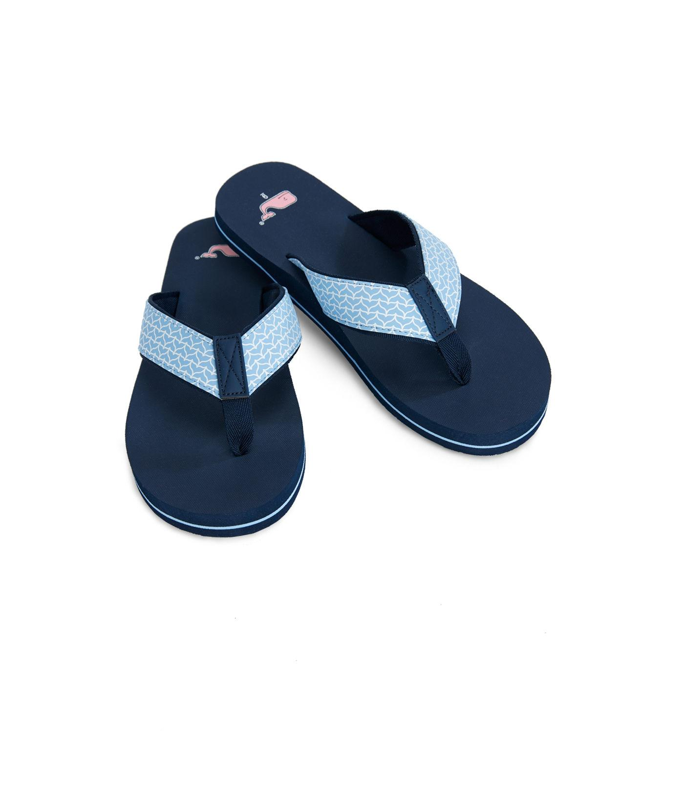 bee328e86f89 Vineyard Vines - Blue Whale Tail Classic Flip Flops - Lyst. View fullscreen