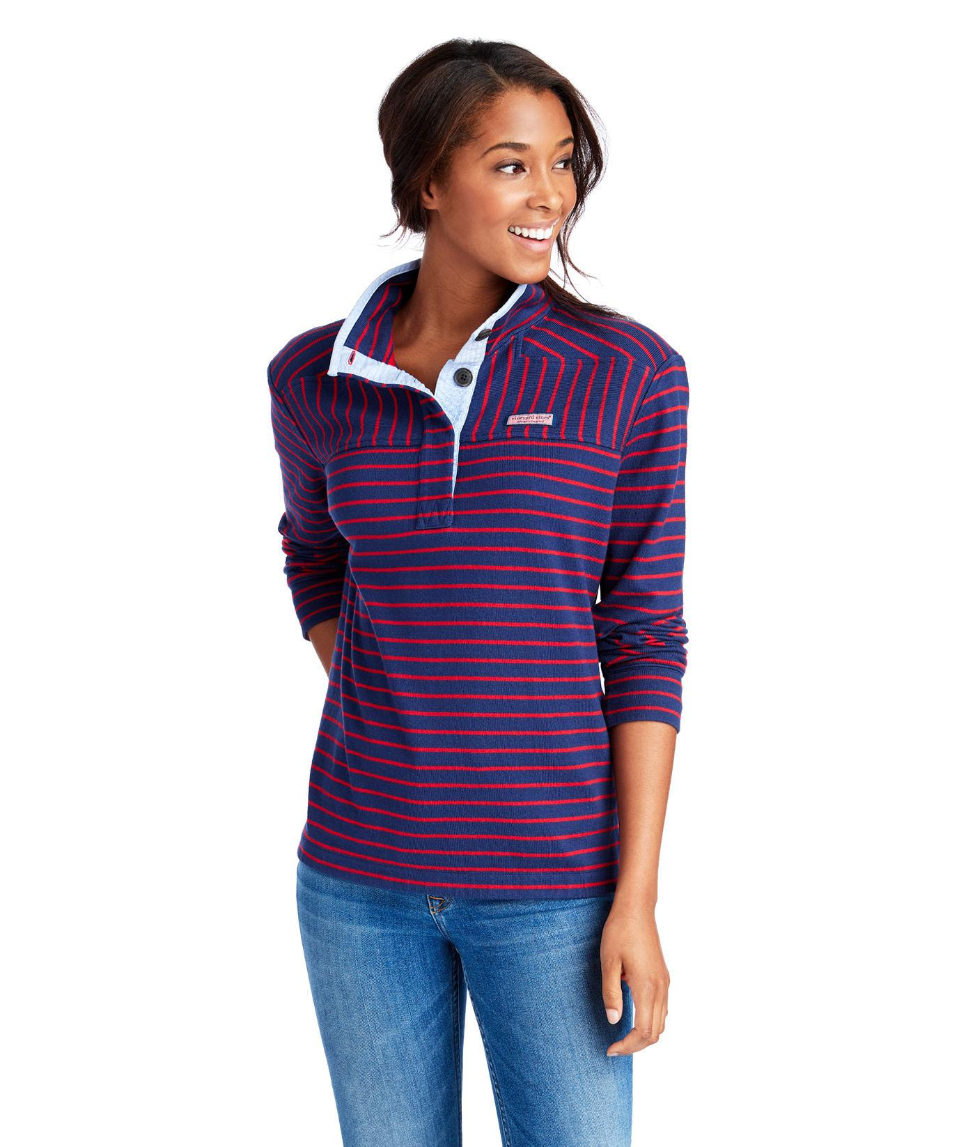 fa17d8e2b Lyst - Vineyard Vines Button-up Shep Shirt in Purple