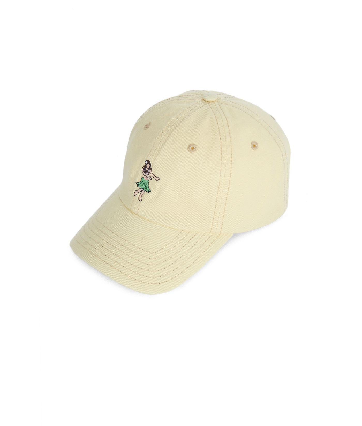 Vineyard Vines - Natural Hula Girl Classic Twill Hat for Men - Lyst. View  fullscreen c51f57893937