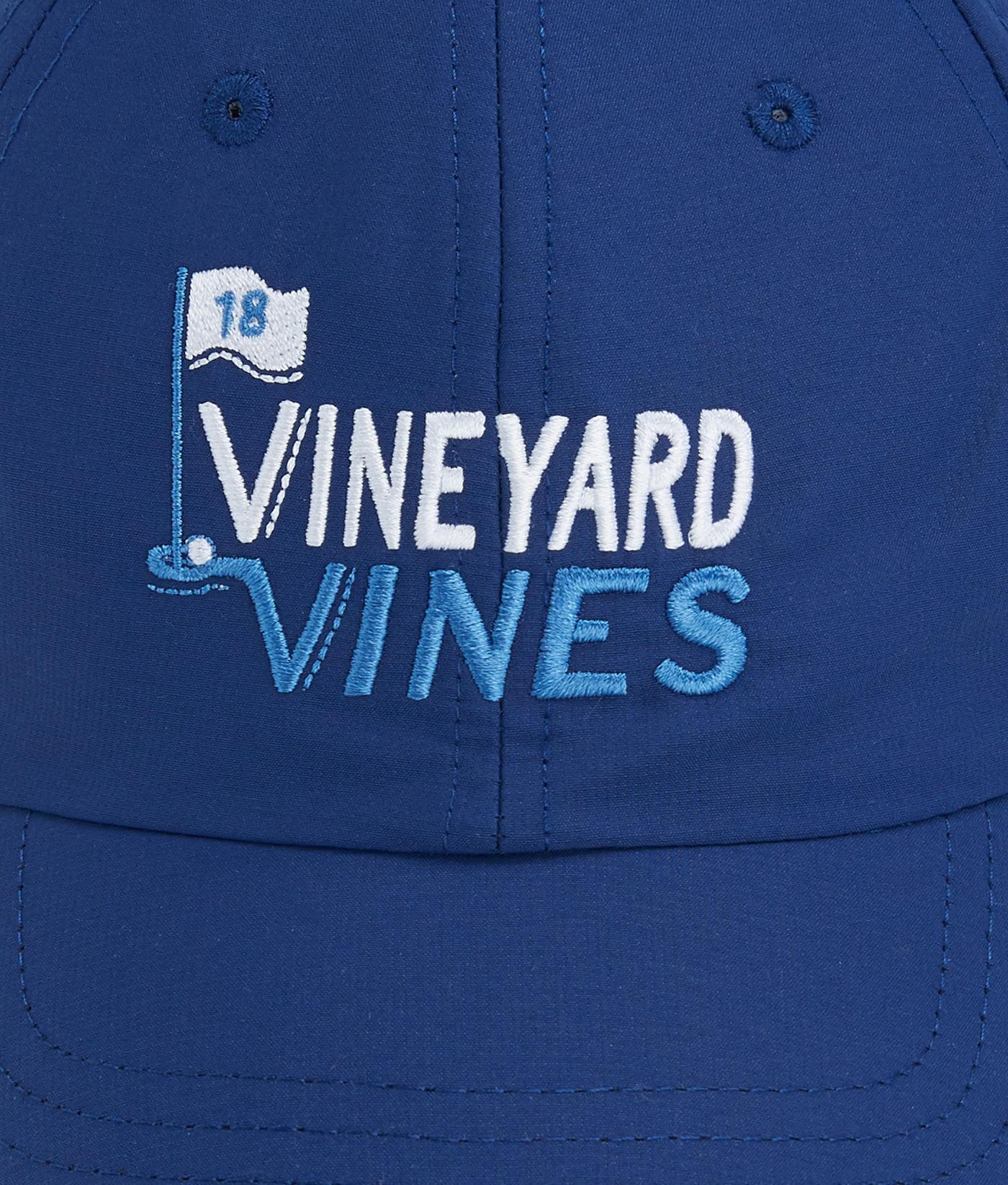 015b3f54fda Lyst - Vineyard Vines Golf Embroidered Performance Baseball Hat in Blue for  Men