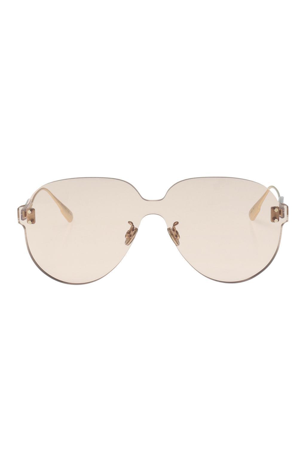 b81b0b003d8 Lyst - Dior  color Quake 3  Sunglasses in Pink