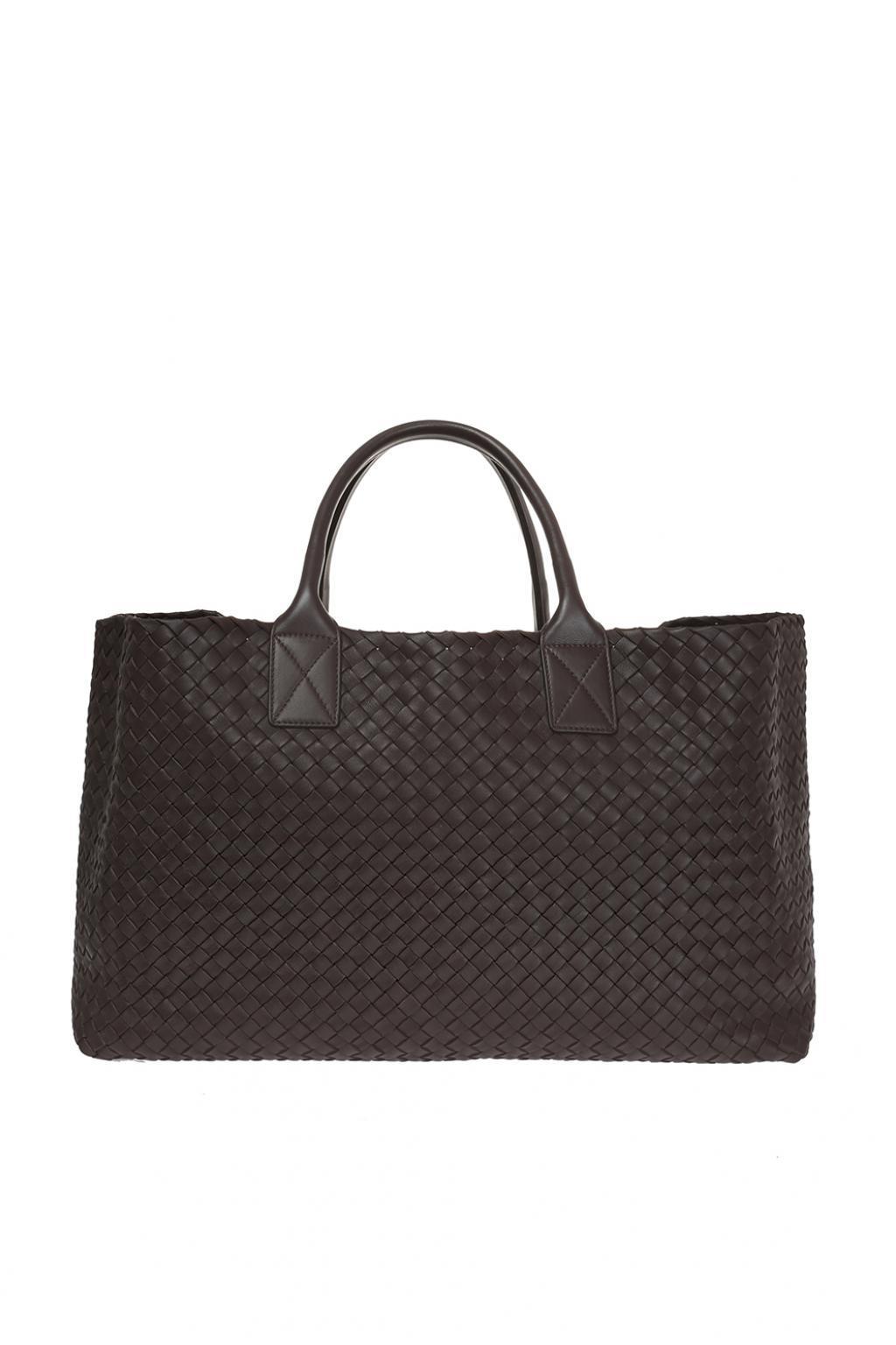 Bottega Veneta  cabat  Bag in Brown - Lyst 5f95cd027b1be