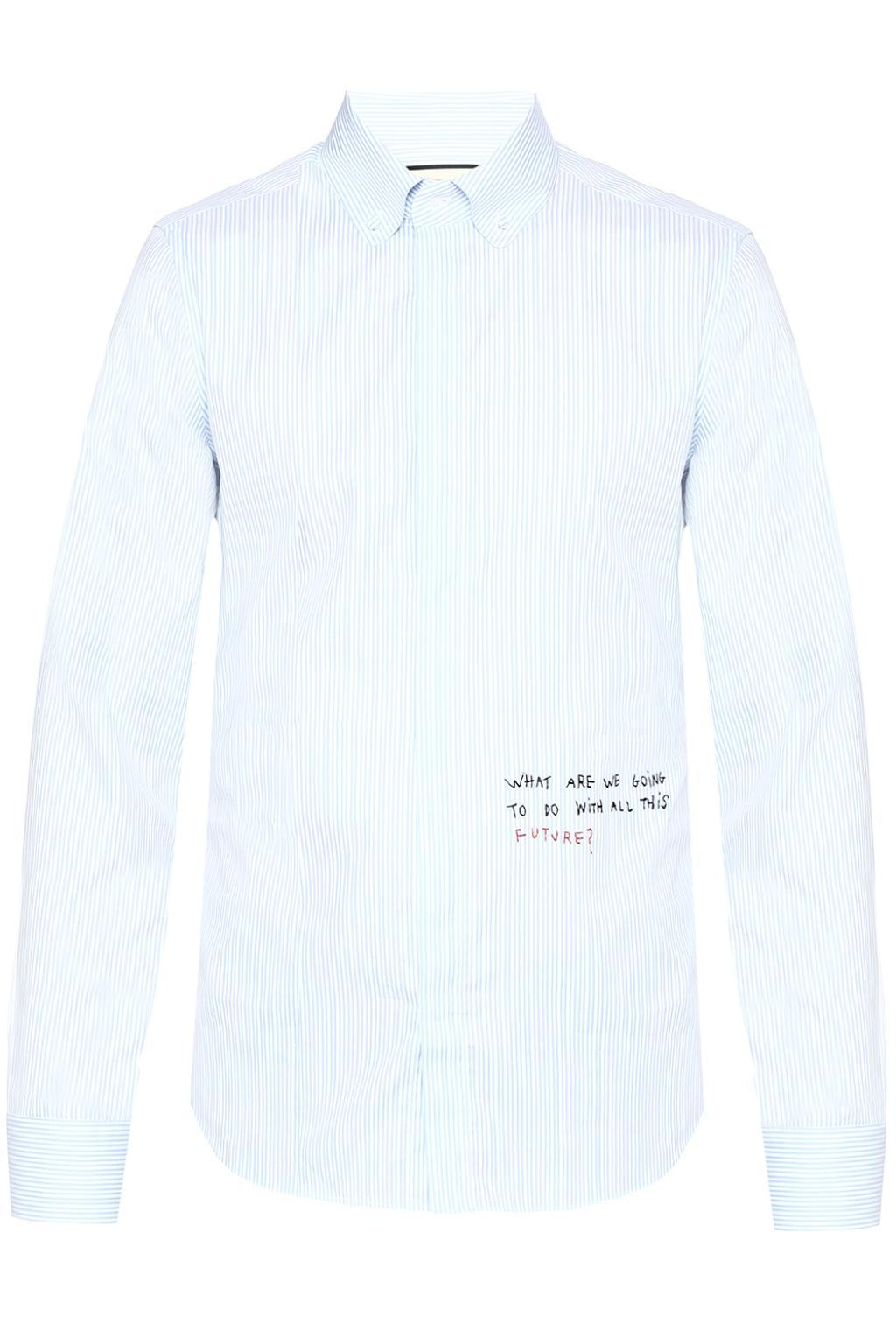 c3b7ada2b0f All White Gucci Shirt – EDGE Engineering and Consulting Limited