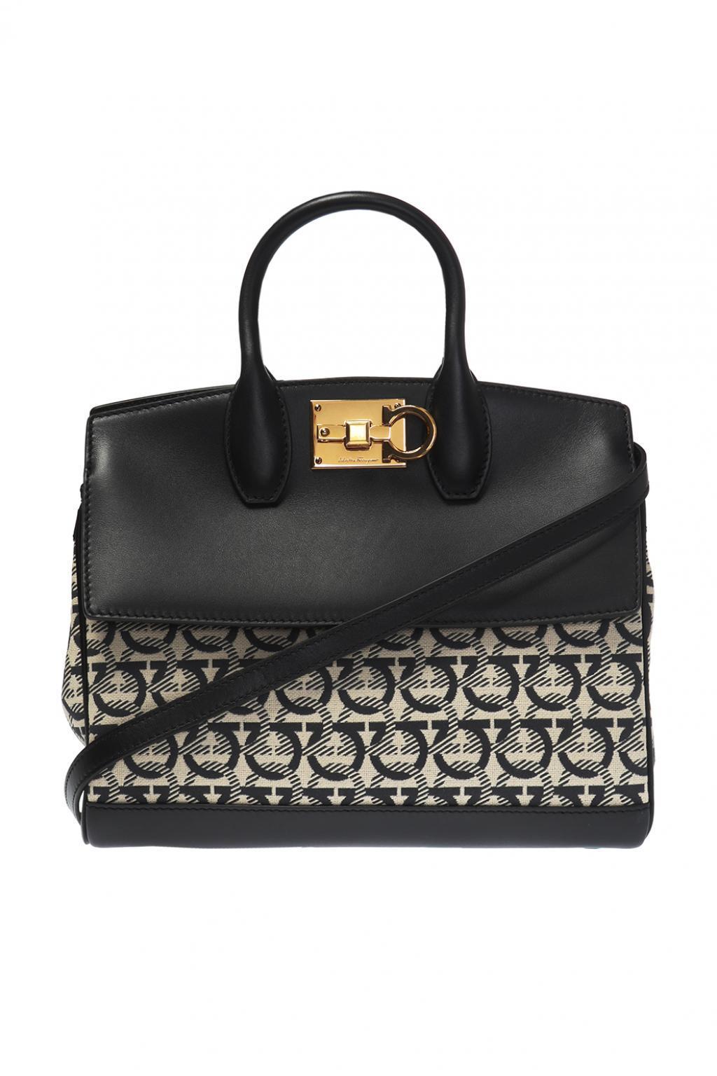 96220d72af Lyst - Ferragamo  the Studio  Shoulder Bag in Black
