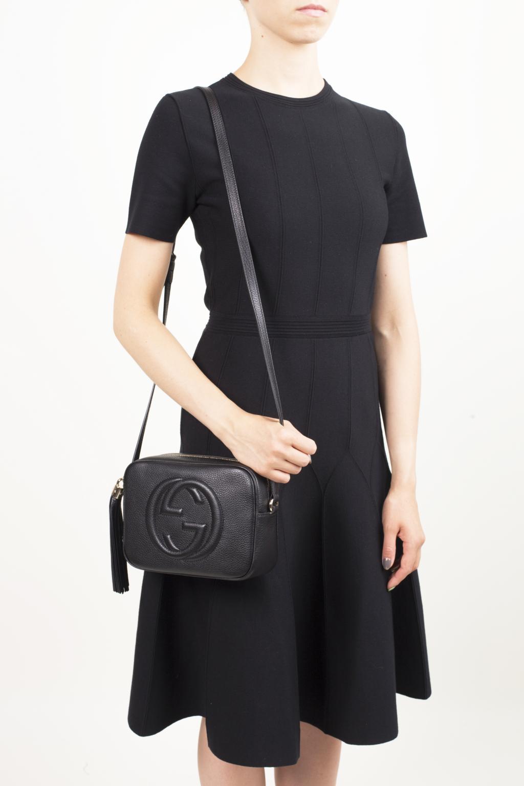 245e52a30a807d Gucci - Black 'soho Disco' Shoulder Bag - Lyst. View fullscreen
