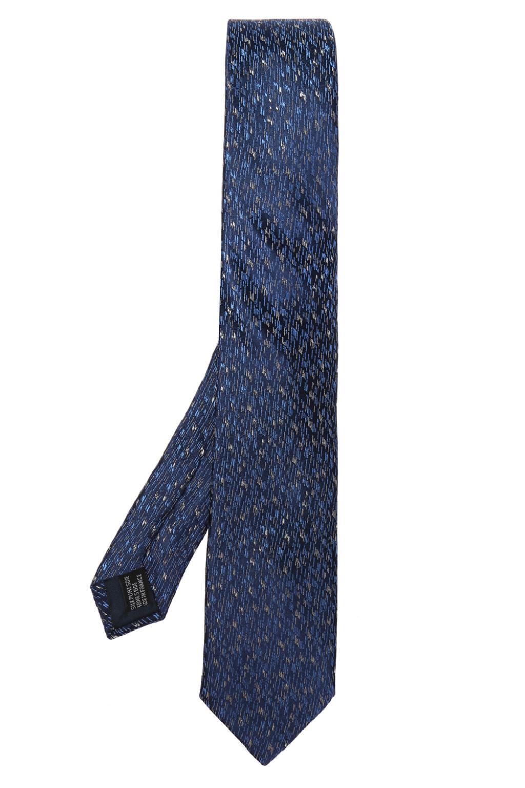Cravate À Motifs - Bleu Lanvin ZMXC4rIt