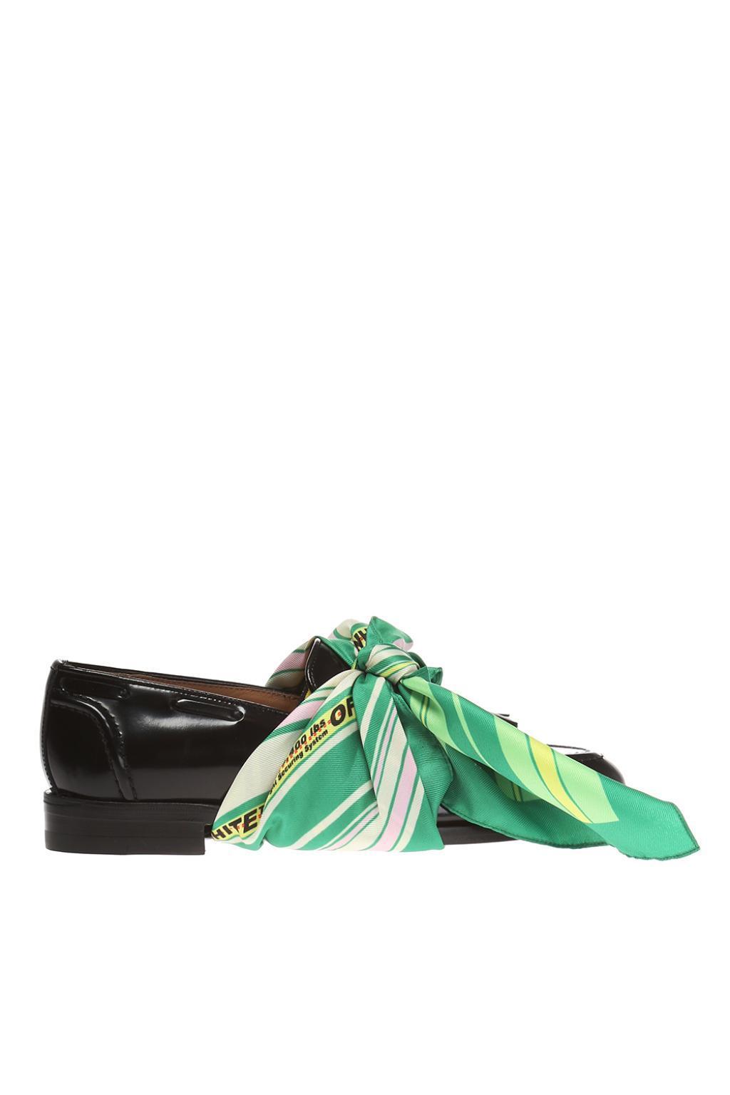 Lyst - Off-White c o Virgil Abloh Slip-on Shoes in Black 924e146e9