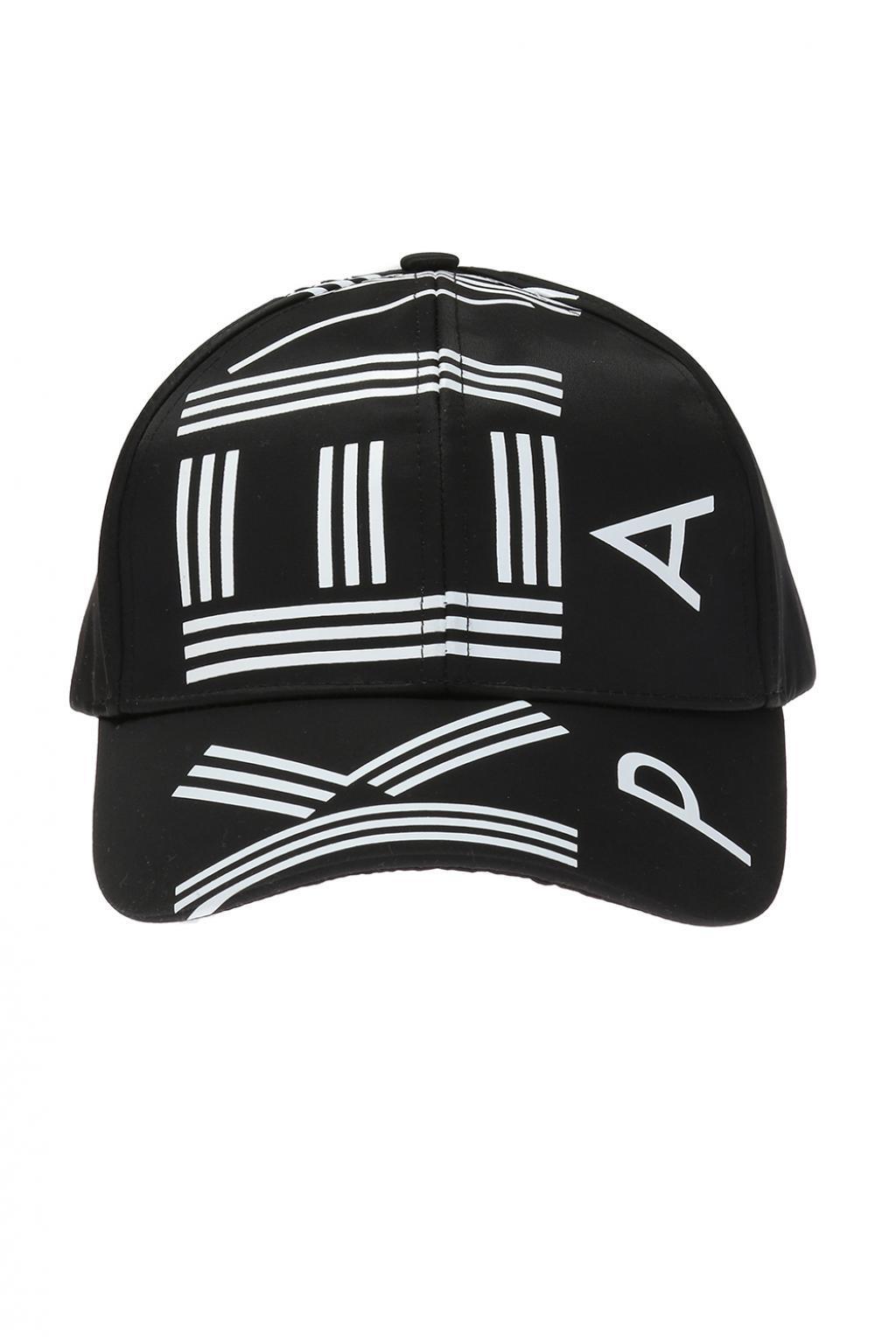 5c5ce106dc2 Lyst - KENZO Baseball Cap With Logo in Black for Men