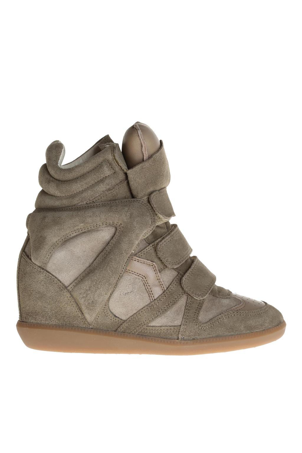 73b34d86de9d Lyst - Étoile Isabel Marant Wedge  beckett  Sneakers in Green