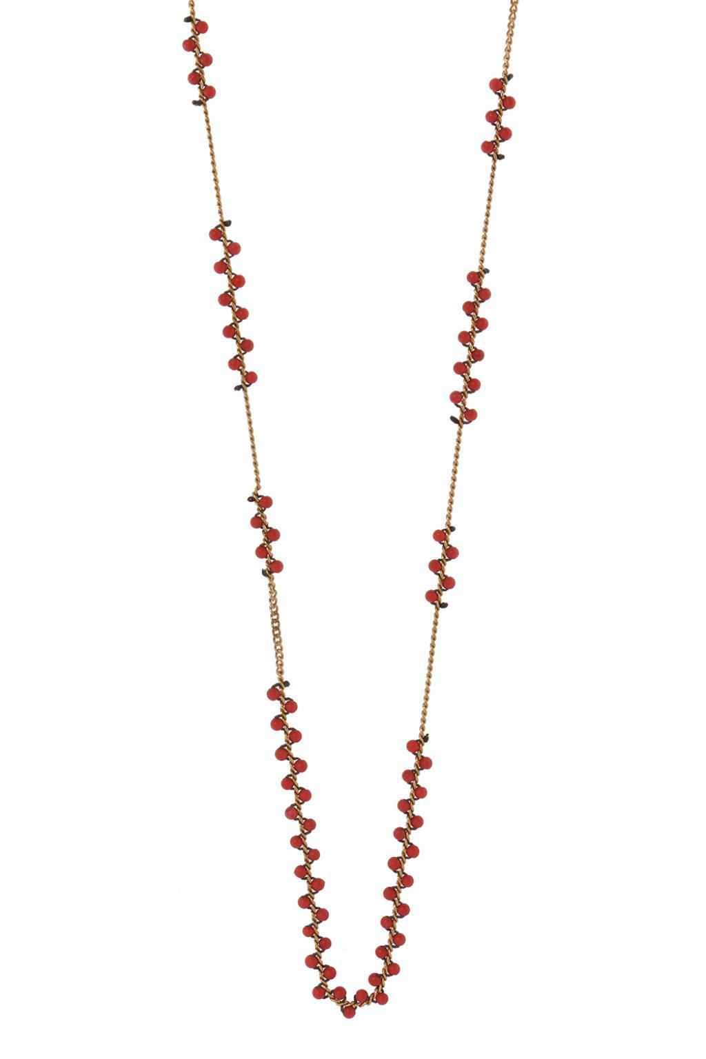 Isabel Marant Embellished necklace ML2Rs