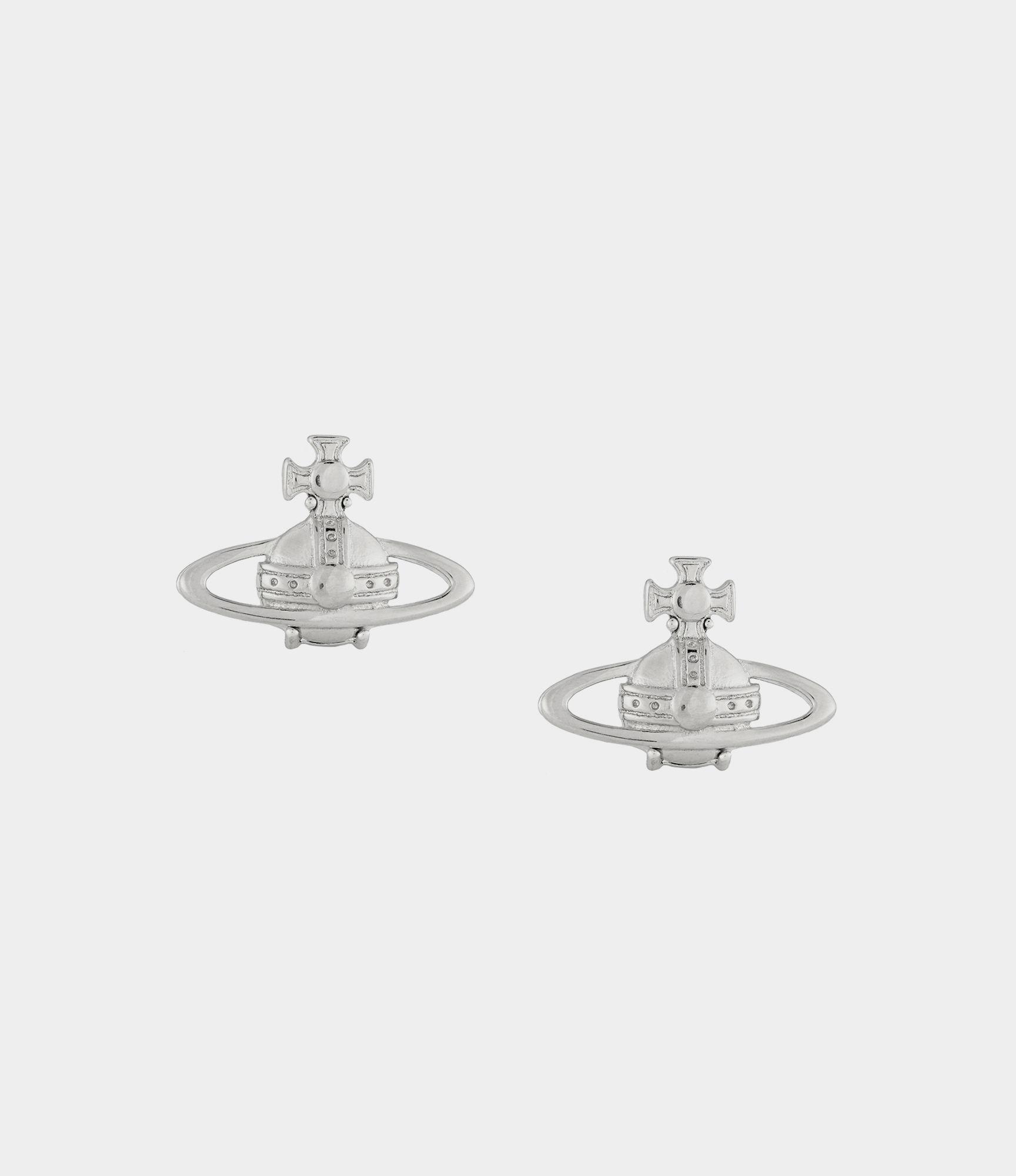 445235b39 Vivienne Westwood Suzie Earrings Silver in Metallic - Lyst