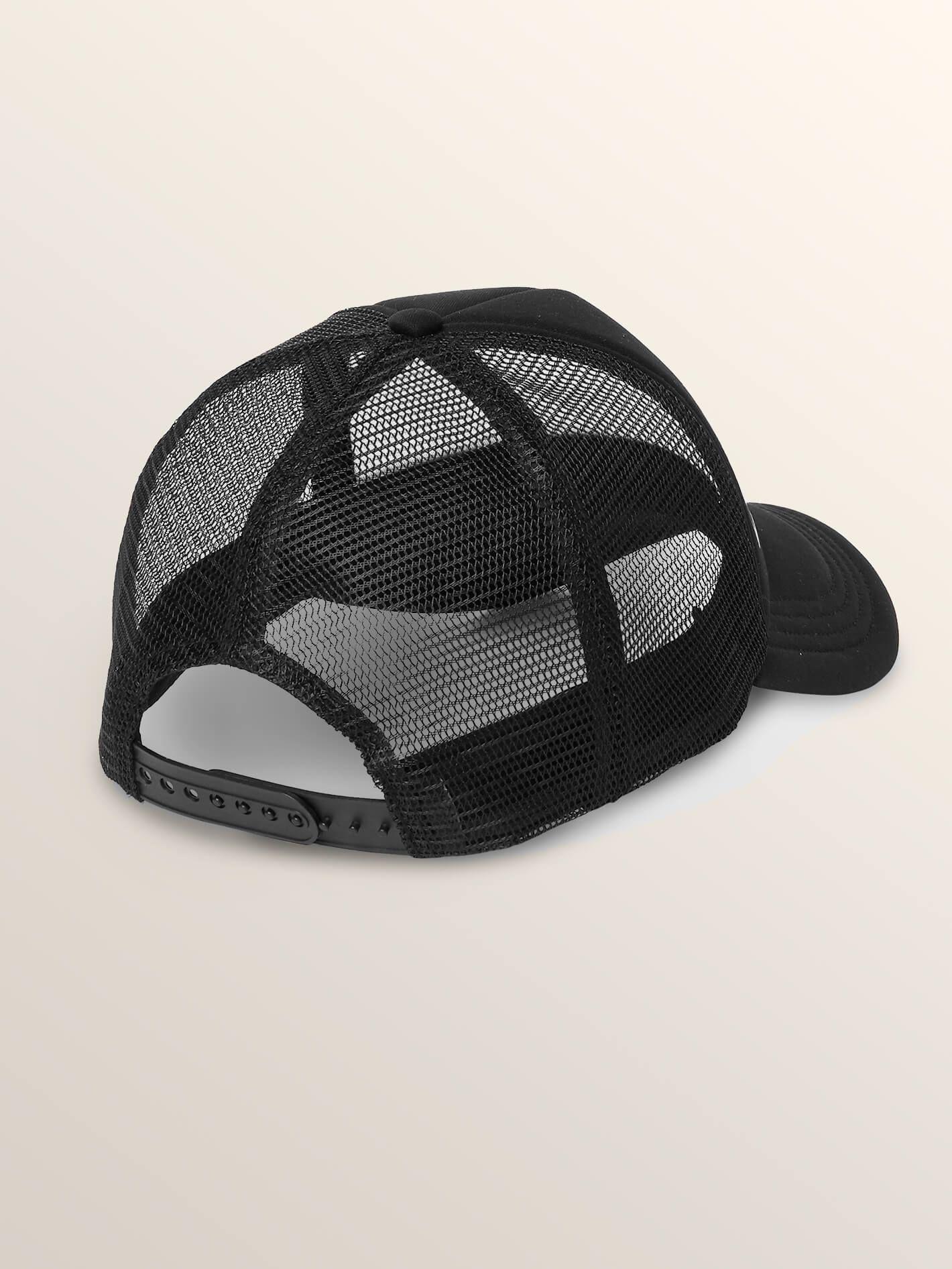 154b10ff381 ... australia lyst volcom cali stoned trucker hat black o s in black for  men 51ca6 61fdc