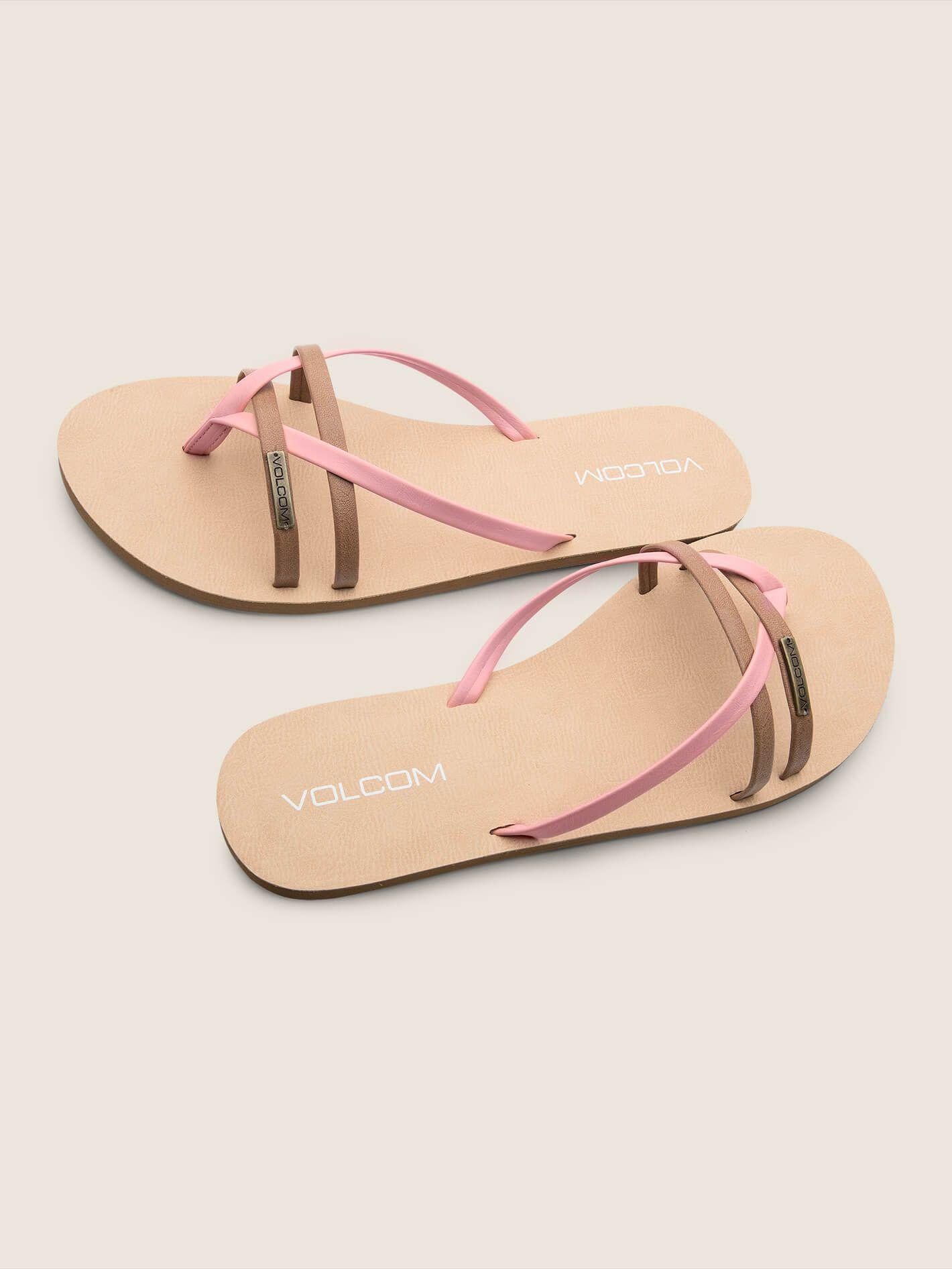 2d359726f406e4 Lyst - Volcom Lookout 2 Sandals - Black Combo - 10