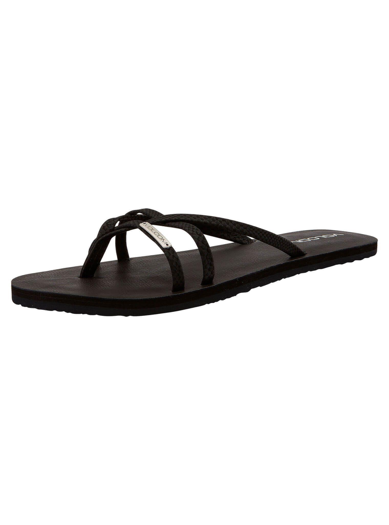7d4d11f58ac316 Lyst - Volcom Lookout 2 Sandals - Black Combo - 10 in Black