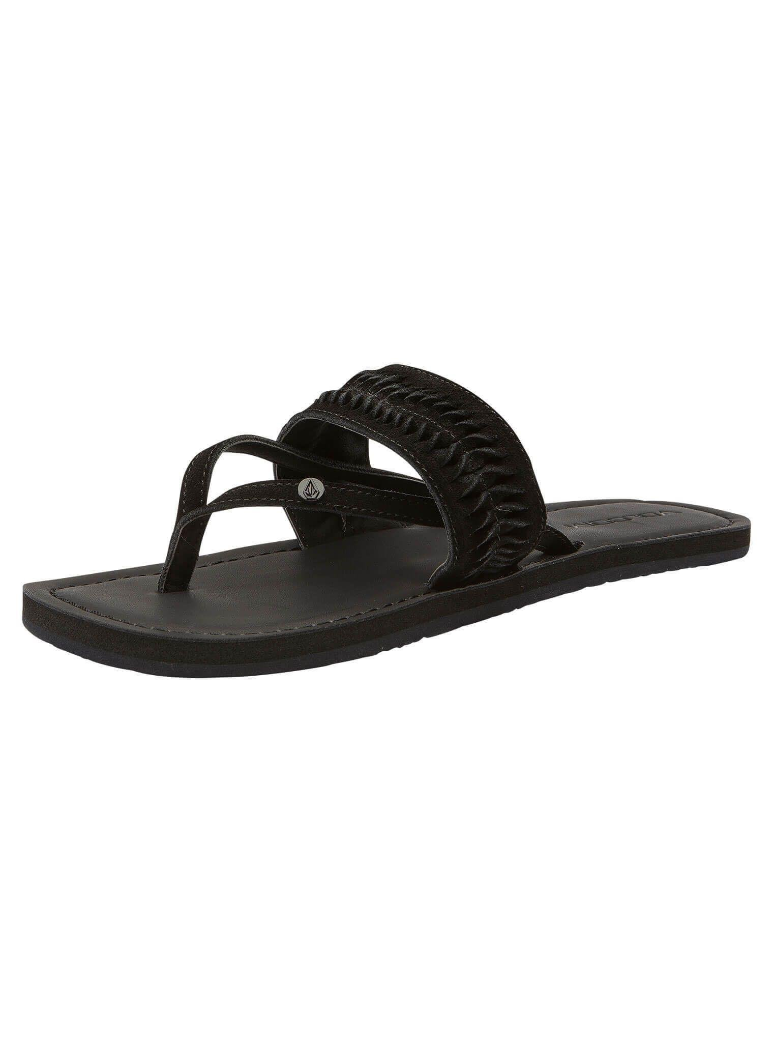 Volcom Costa Sandals Women black Damen nHlRb2