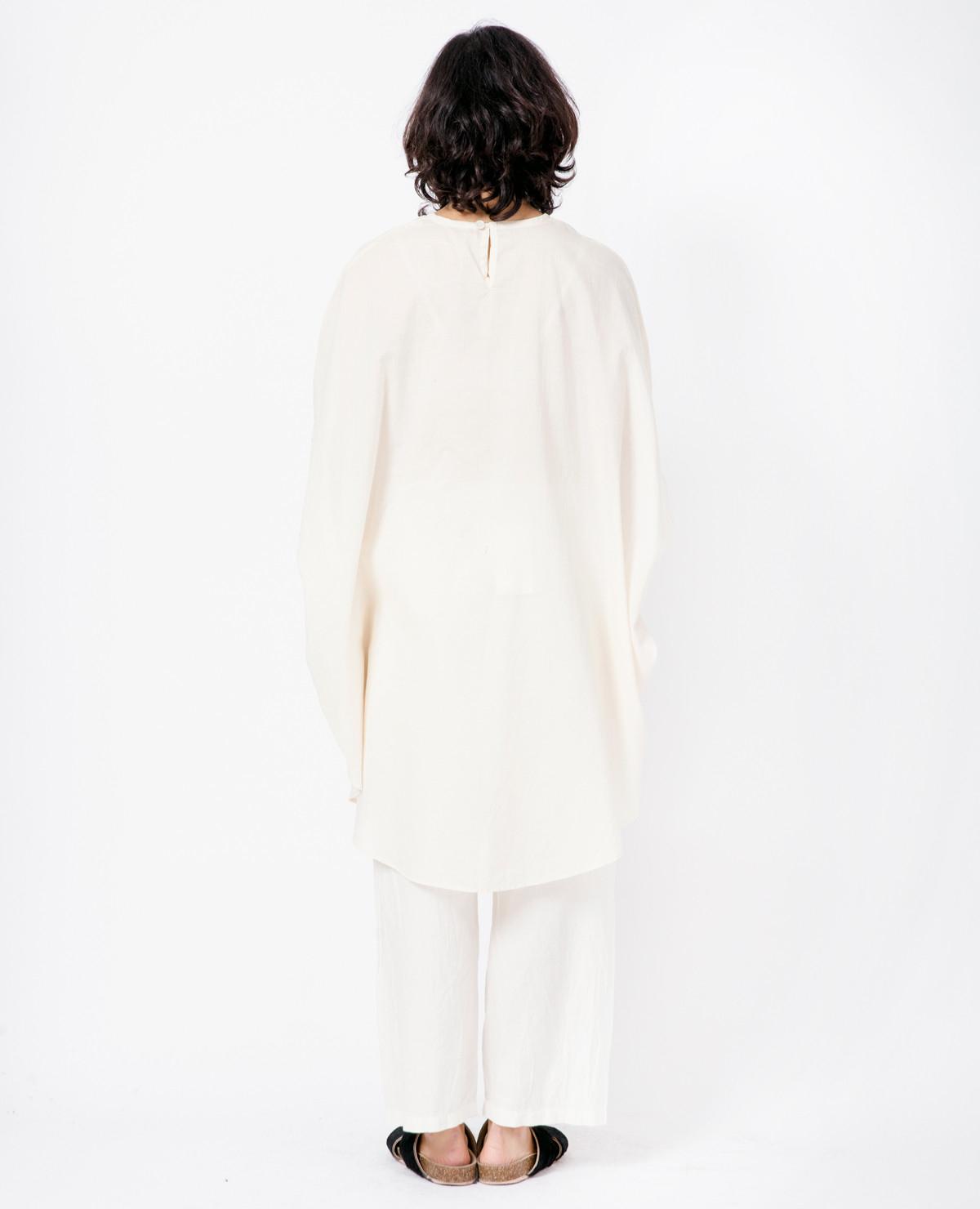 Cosmic wonder circular dress natural in white lyst for Cosmic pattern clothing