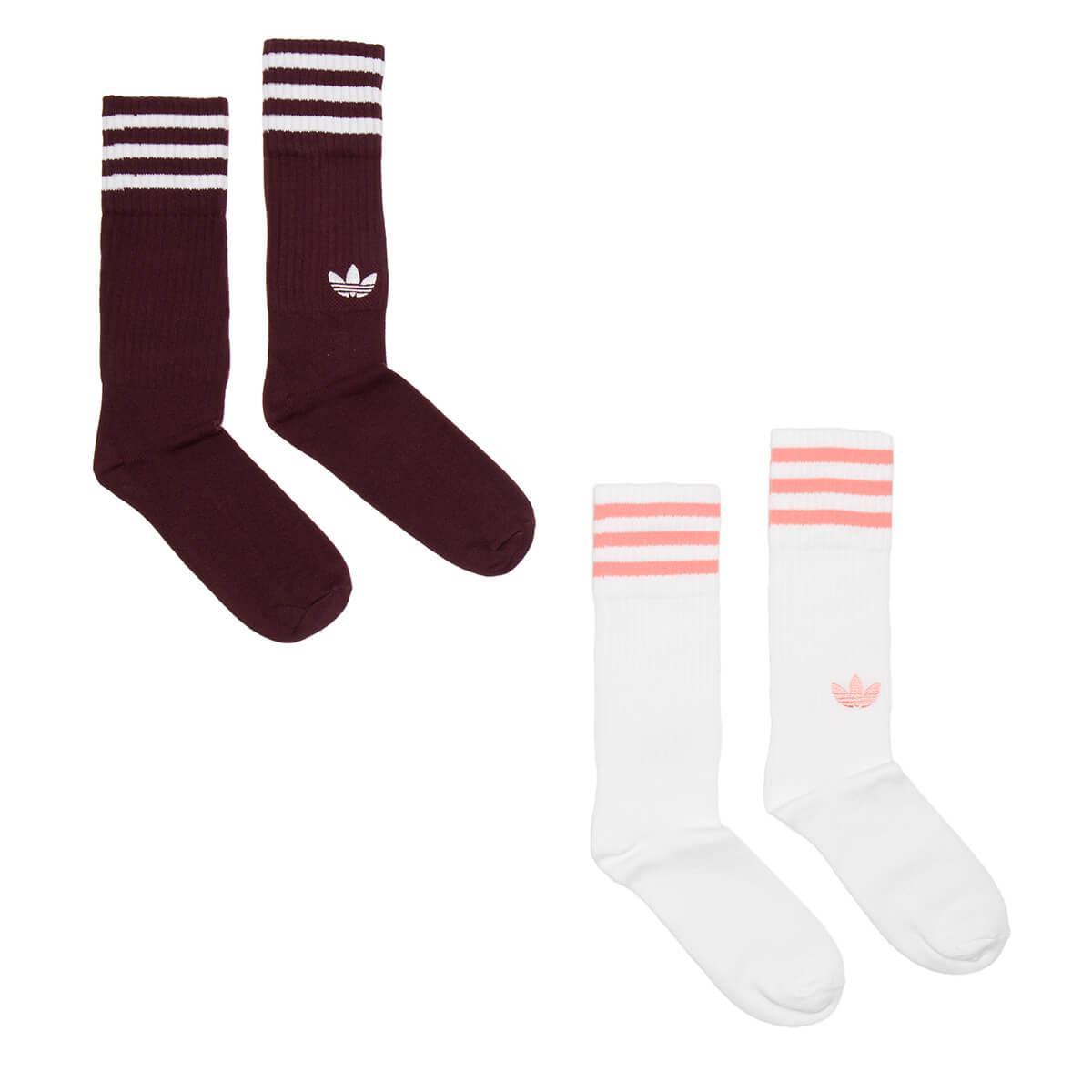 d5cec4300 Lyst - adidas Originals Solid Crew Socks for Men