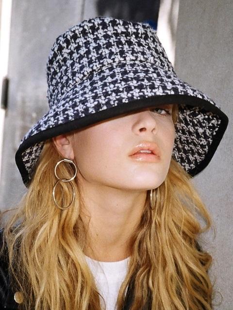 34eb3f5e385 SLEEPYSLIP  unisex  Glencheck Navy Bucket Hat in Blue - Lyst