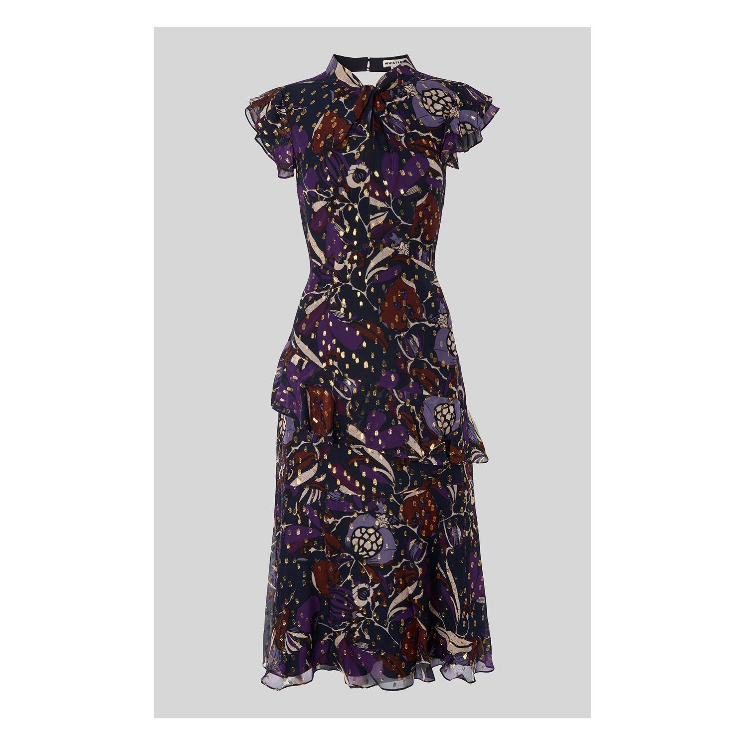 50435428d3b Whistles Montrose Dobby Midi Dress - Save 20% - Lyst