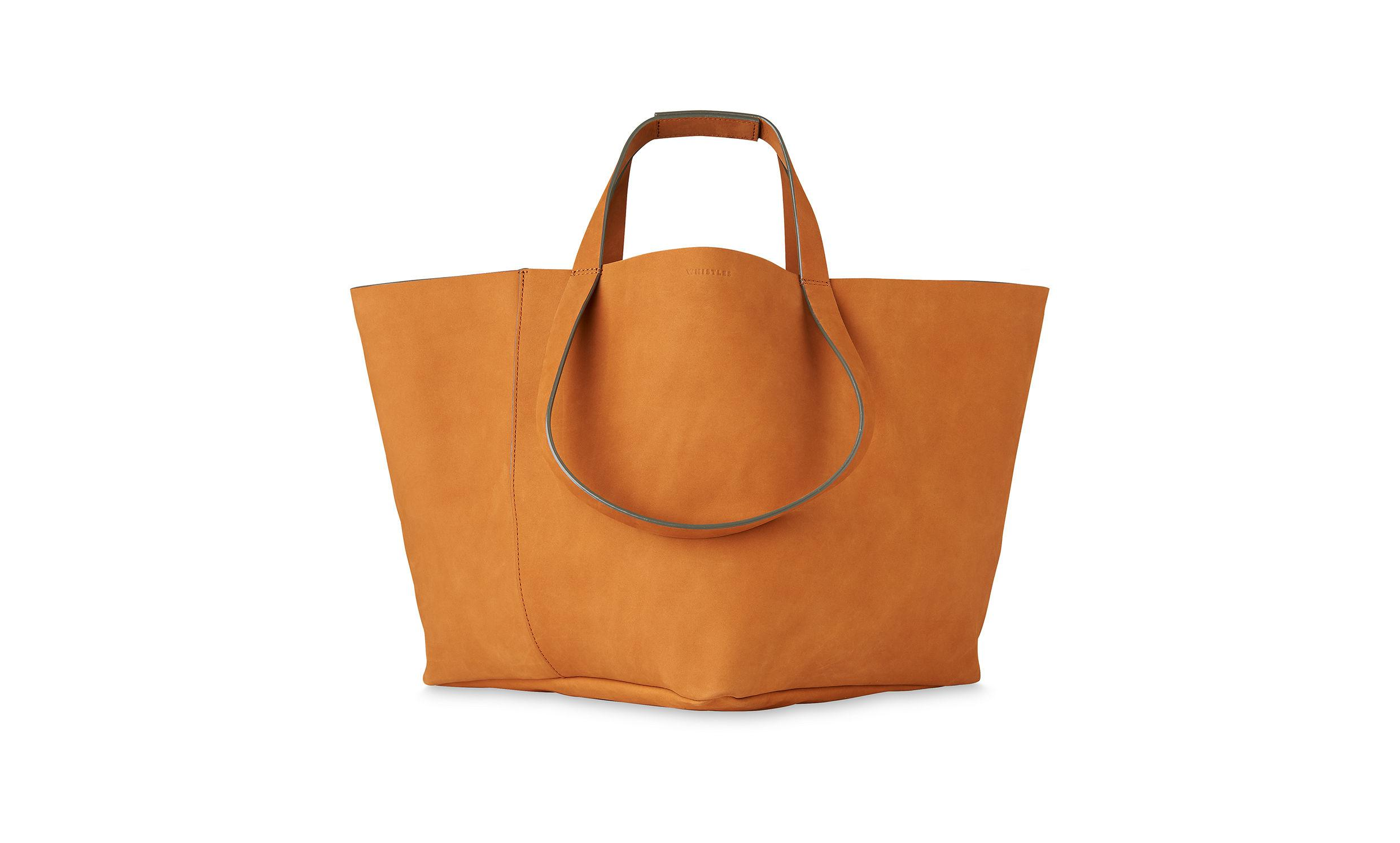 0e0ec12267 Lyst - Whistles Java Oversized Nubuck Tote in Brown