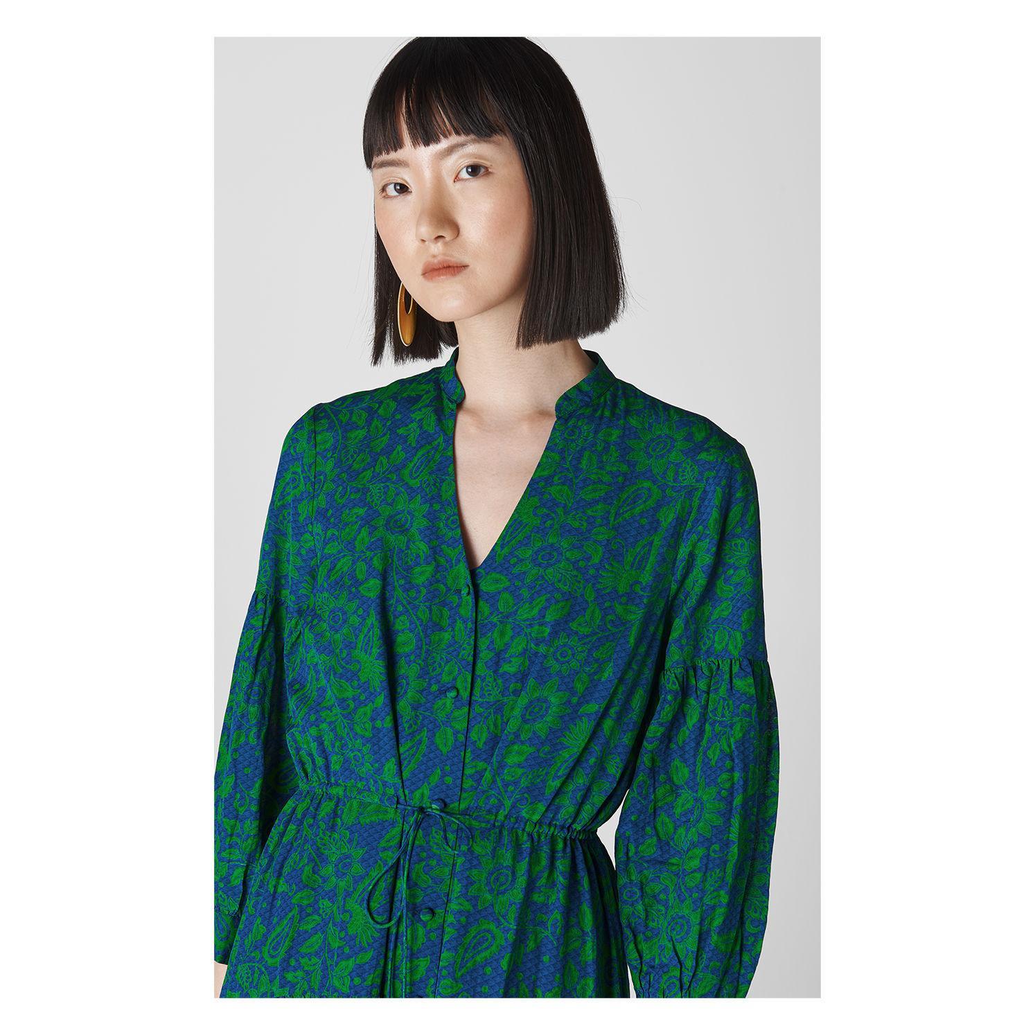 42f412820a92 ... Valeria Henna Shirt Dress - Lyst. View fullscreen