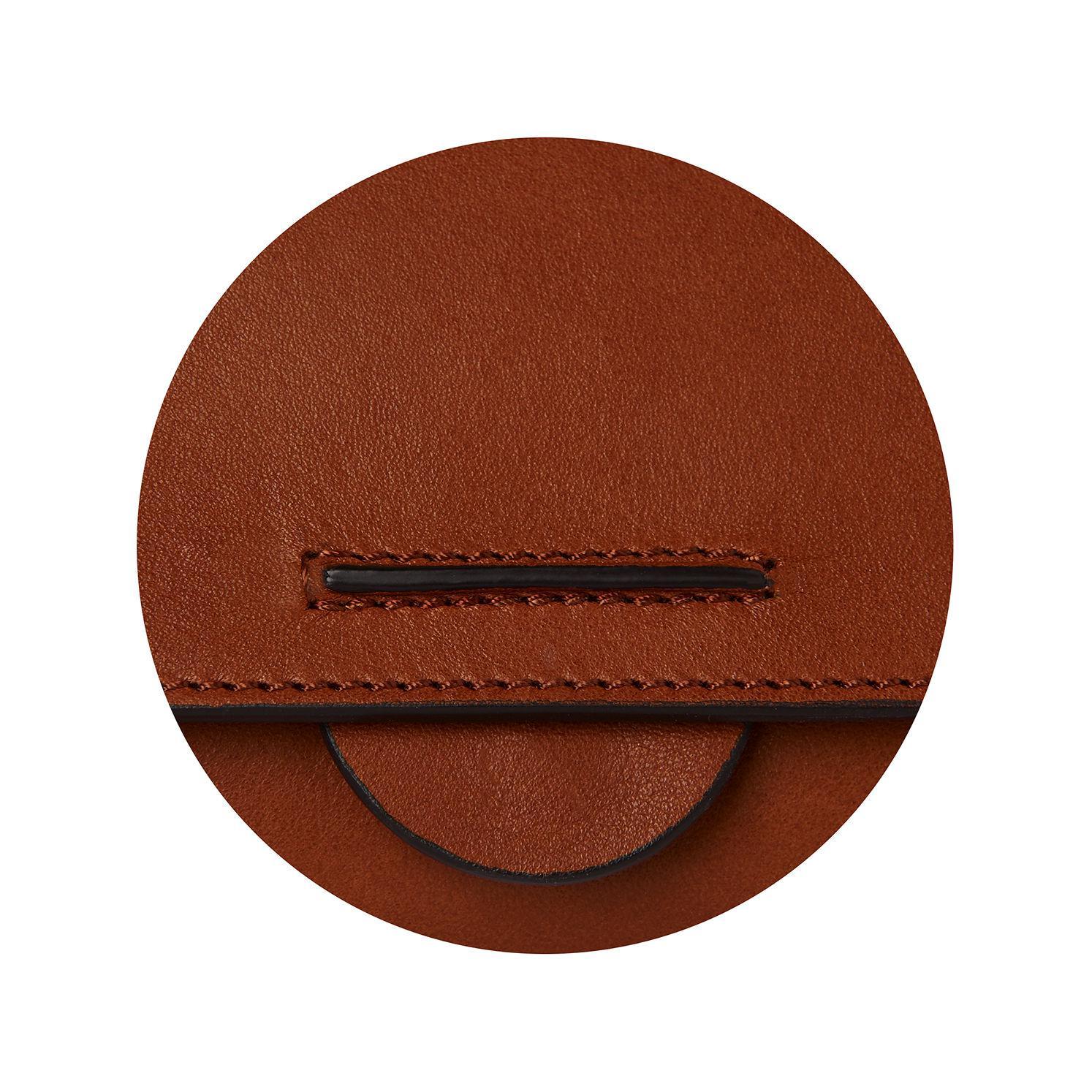 148bd2d14a85 Lyst - Whistles Leyla Flat Seam Crossbody Bag in Brown