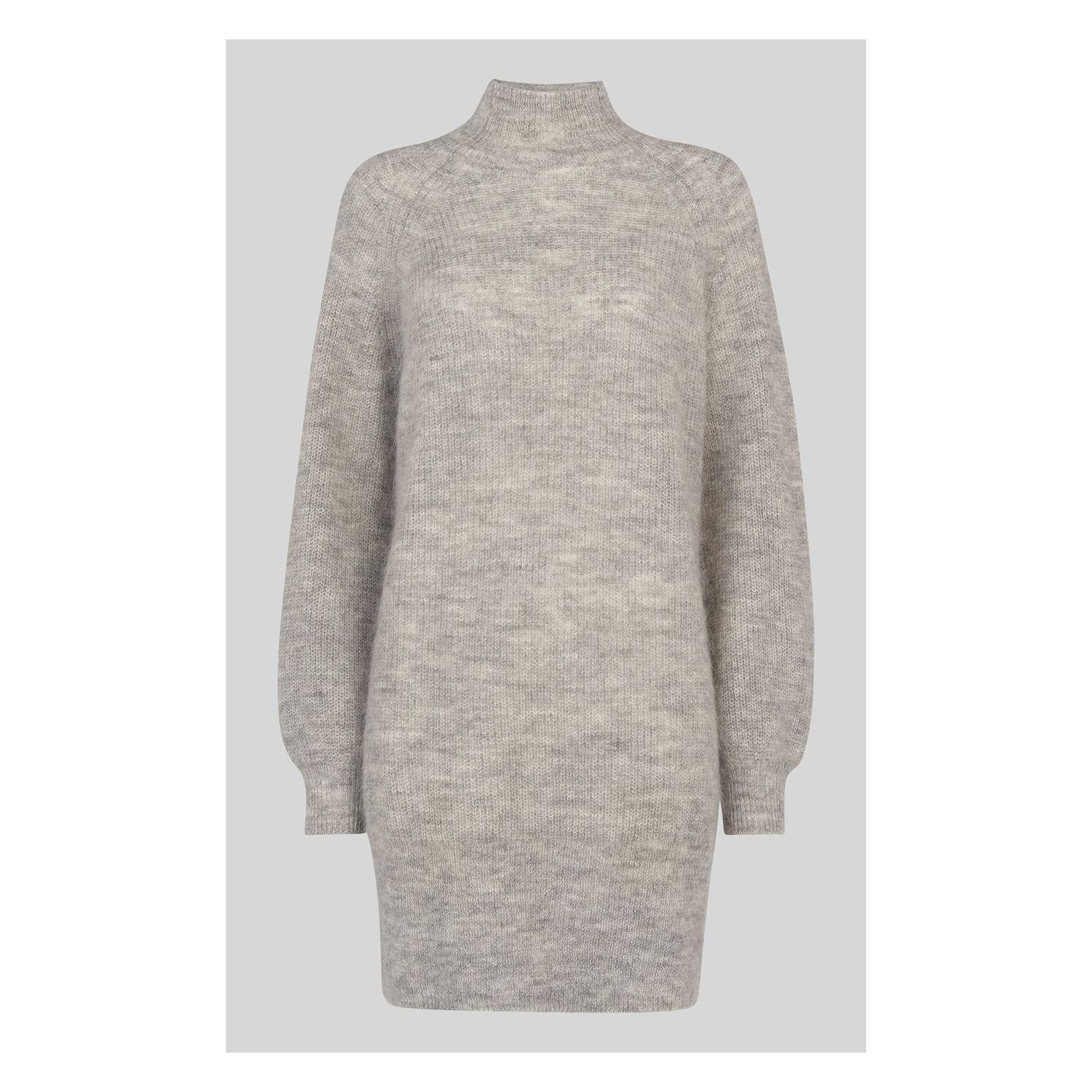 f381e280daf Lyst - Whistles Mohair Funnel Neck Tunic in Gray