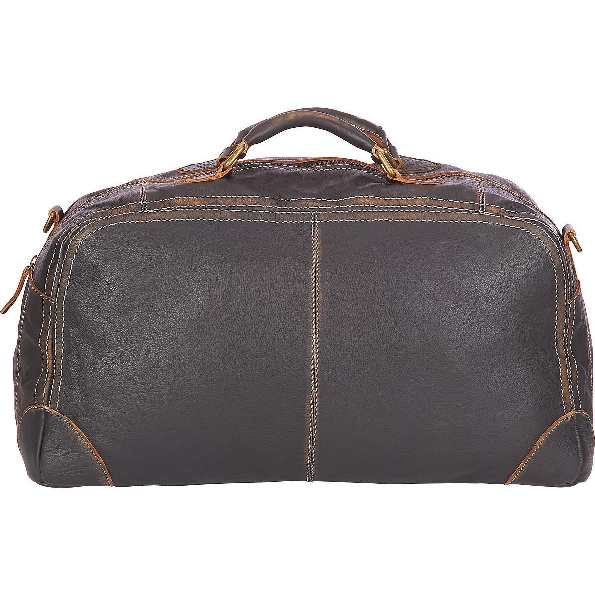 e15f722eba Lyst - Wilsons Leather Black Rivet Distressed Landon Leather Duffel ...