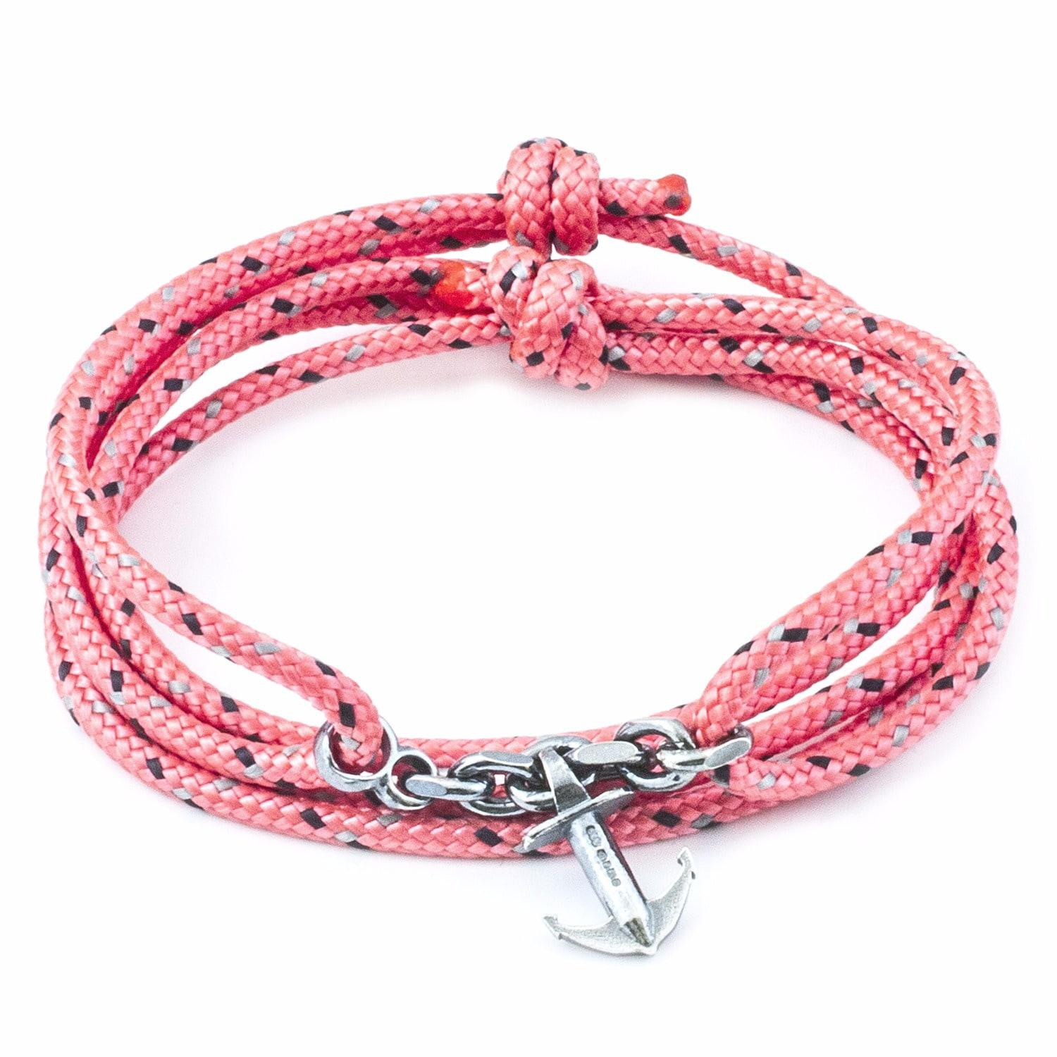 click red nautical rope product watchbandit bracelets balearic bracelet